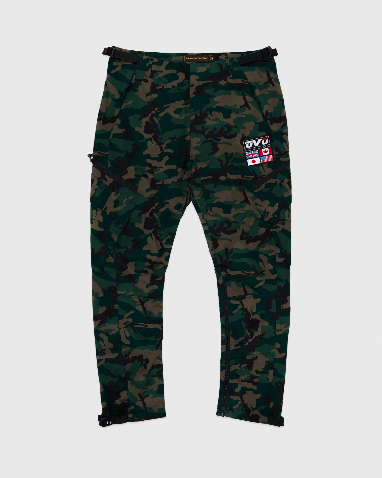 OVO INTERNATIONAL PANT - CAMO GREEN IMAGE #1