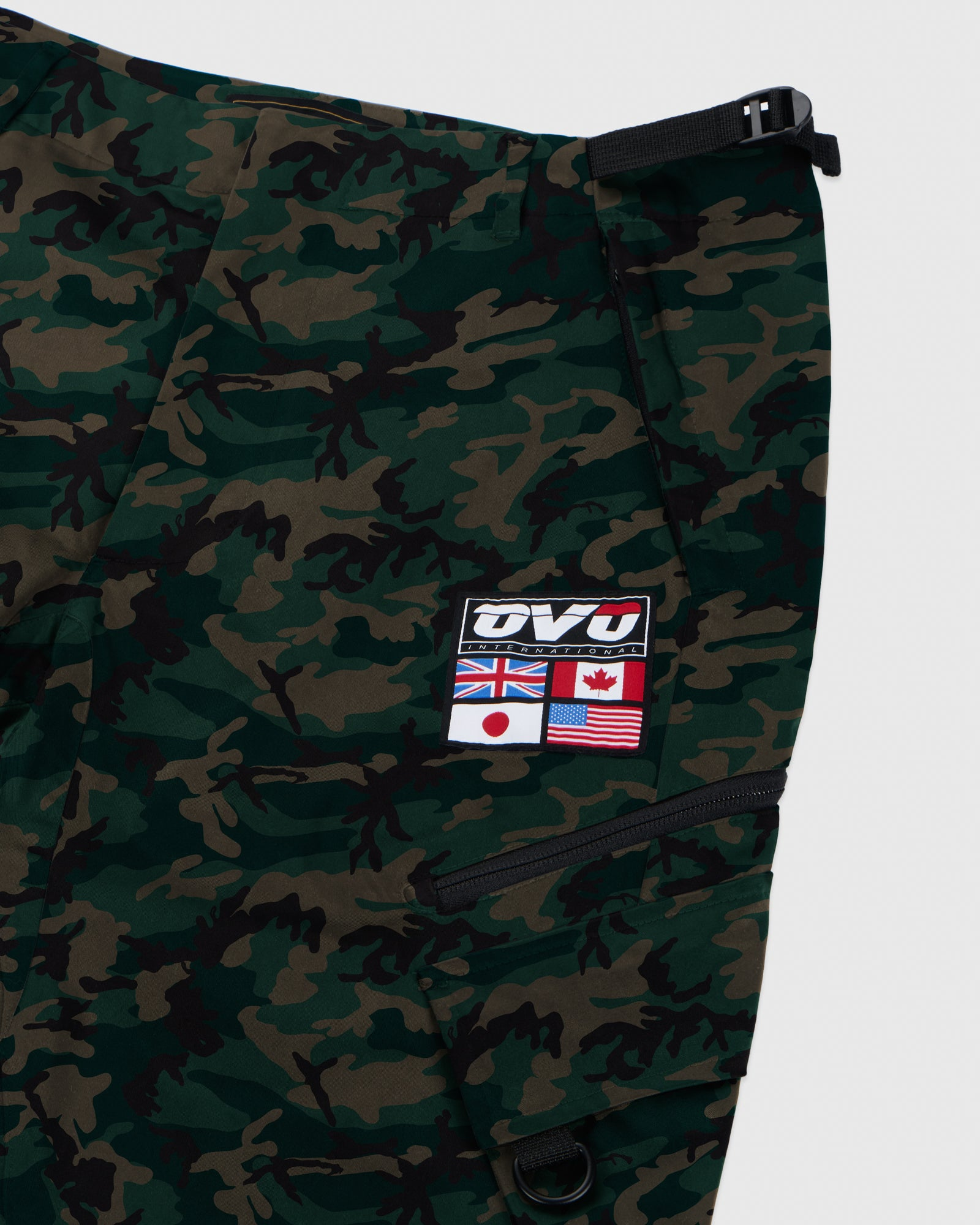 OVO INTERNATIONAL PANT - CAMO GREEN IMAGE #4