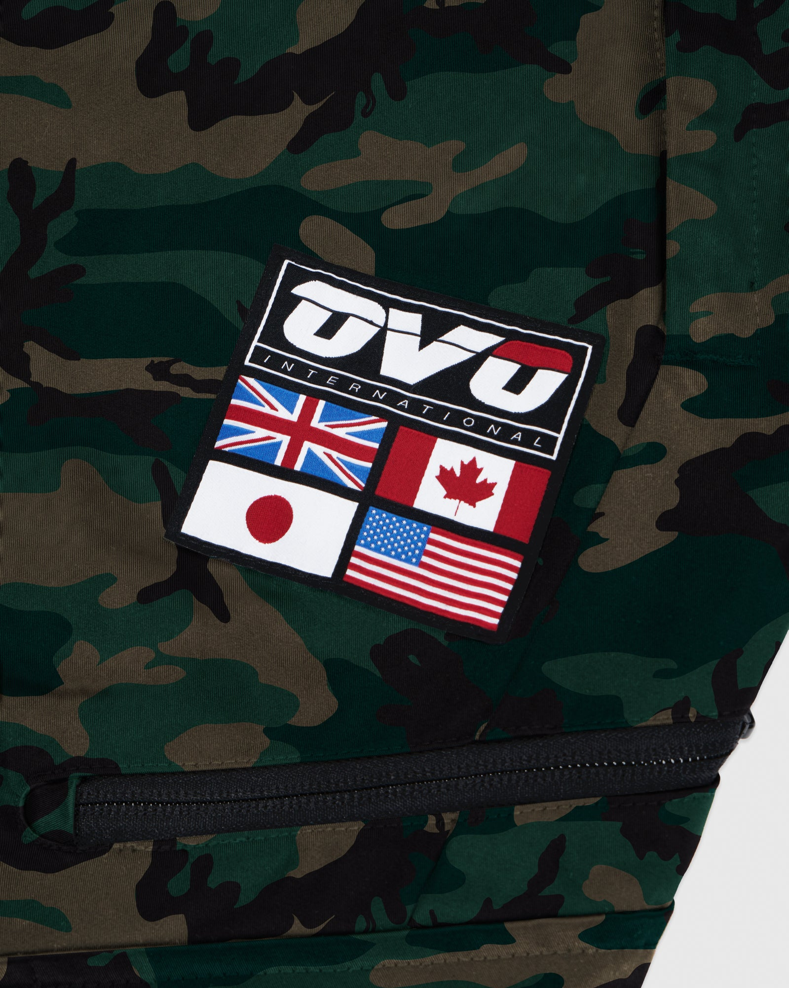 OVO INTERNATIONAL PANT - CAMO GREEN IMAGE #3