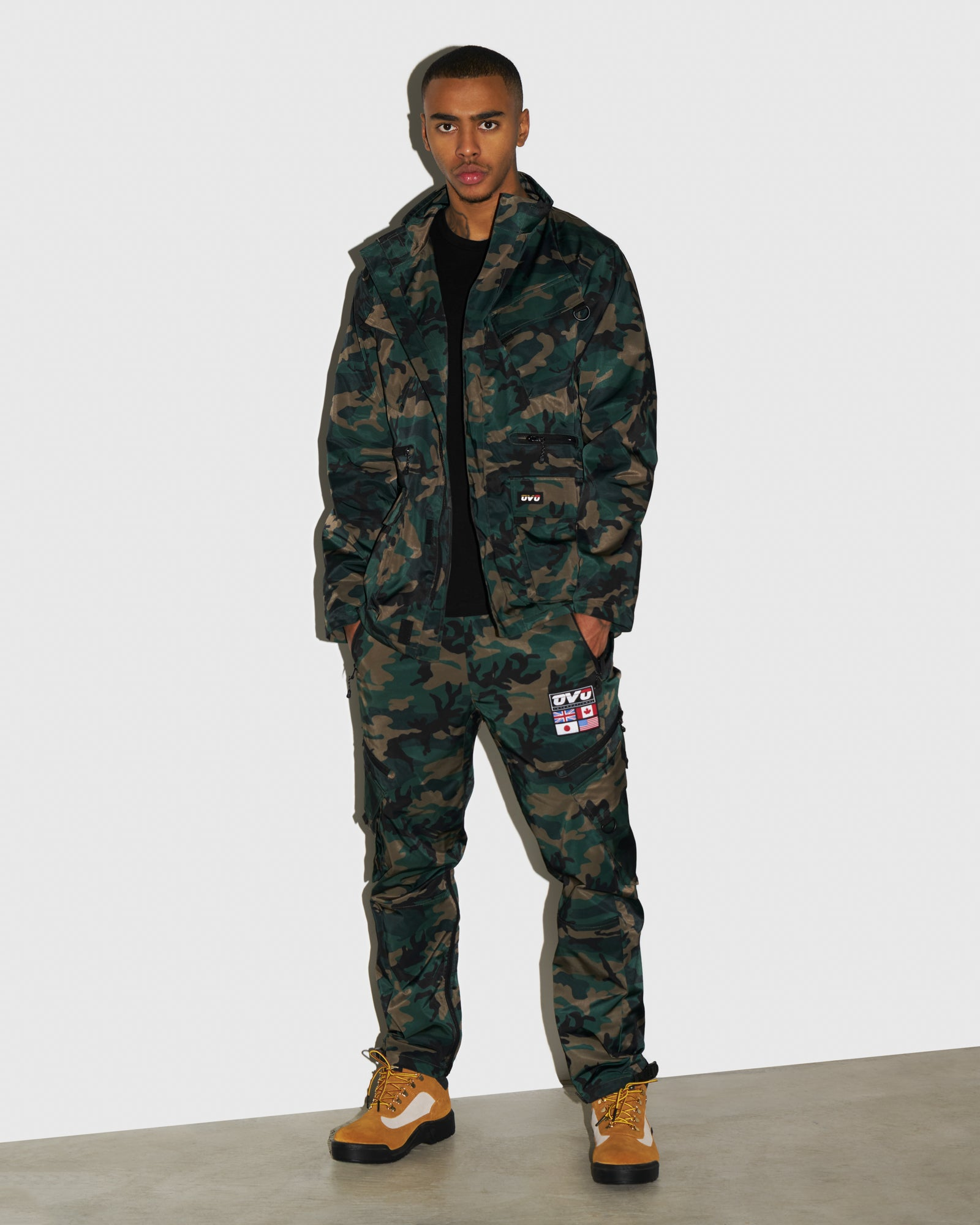 OVO INTERNATIONAL PANT - CAMO GREEN IMAGE #2