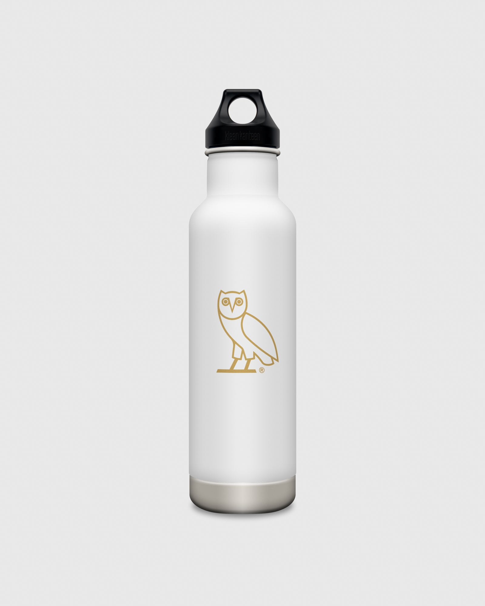OVO x KLEAN KANTEEN OWL WATER BOTTLE - WHITE IMAGE #1