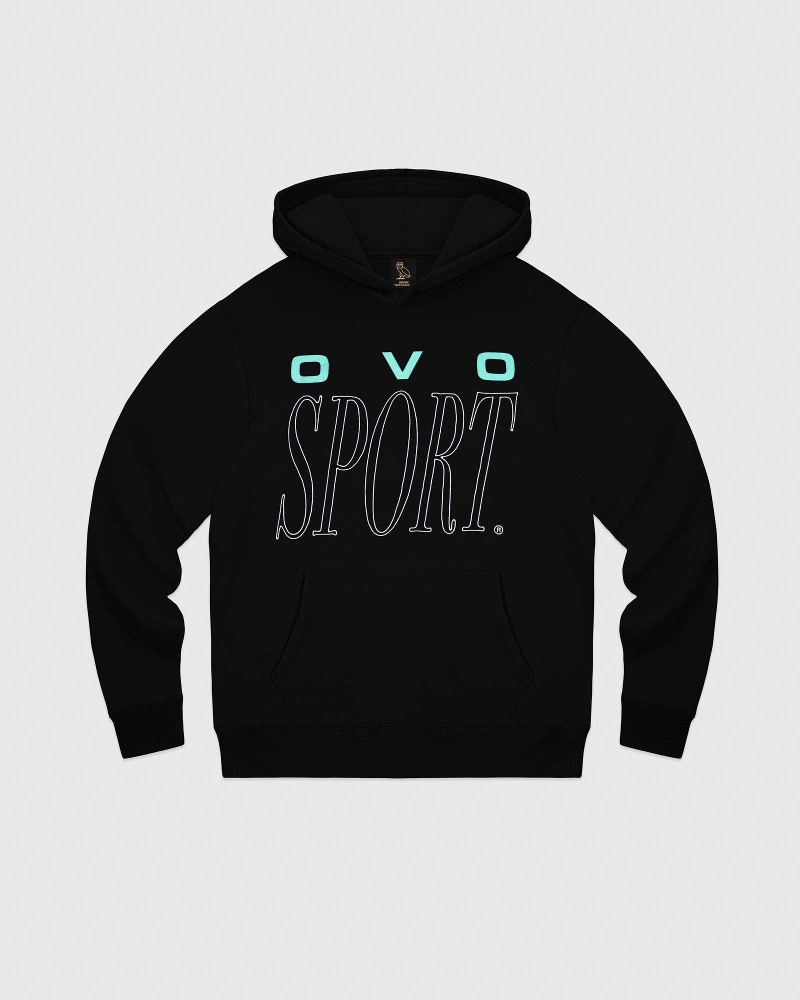 CROSS COUNTRY HOODIE - BLACK IMAGE #1