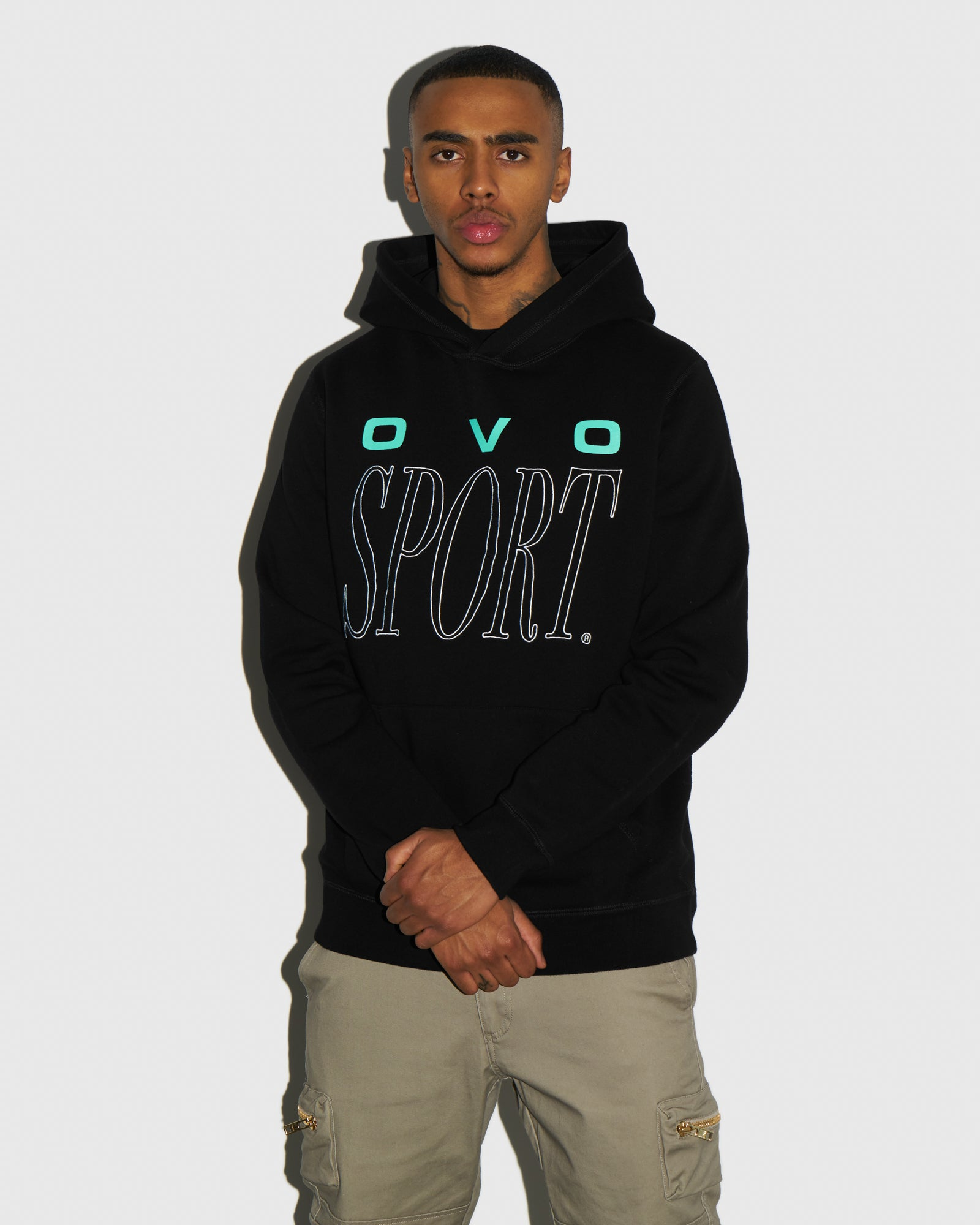 CROSS COUNTRY HOODIE - BLACK IMAGE #2