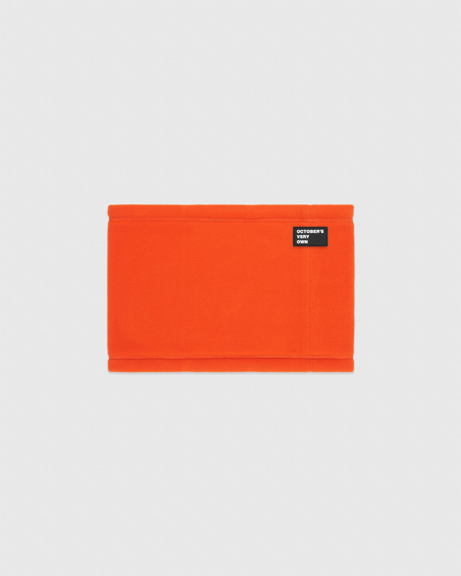 MICROFLEECE NECK WARMER - ORANGE IMAGE #1