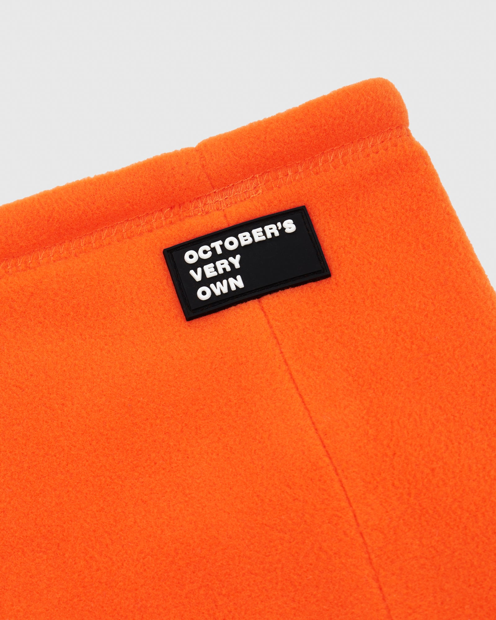 MICROFLEECE NECK WARMER - ORANGE IMAGE #3