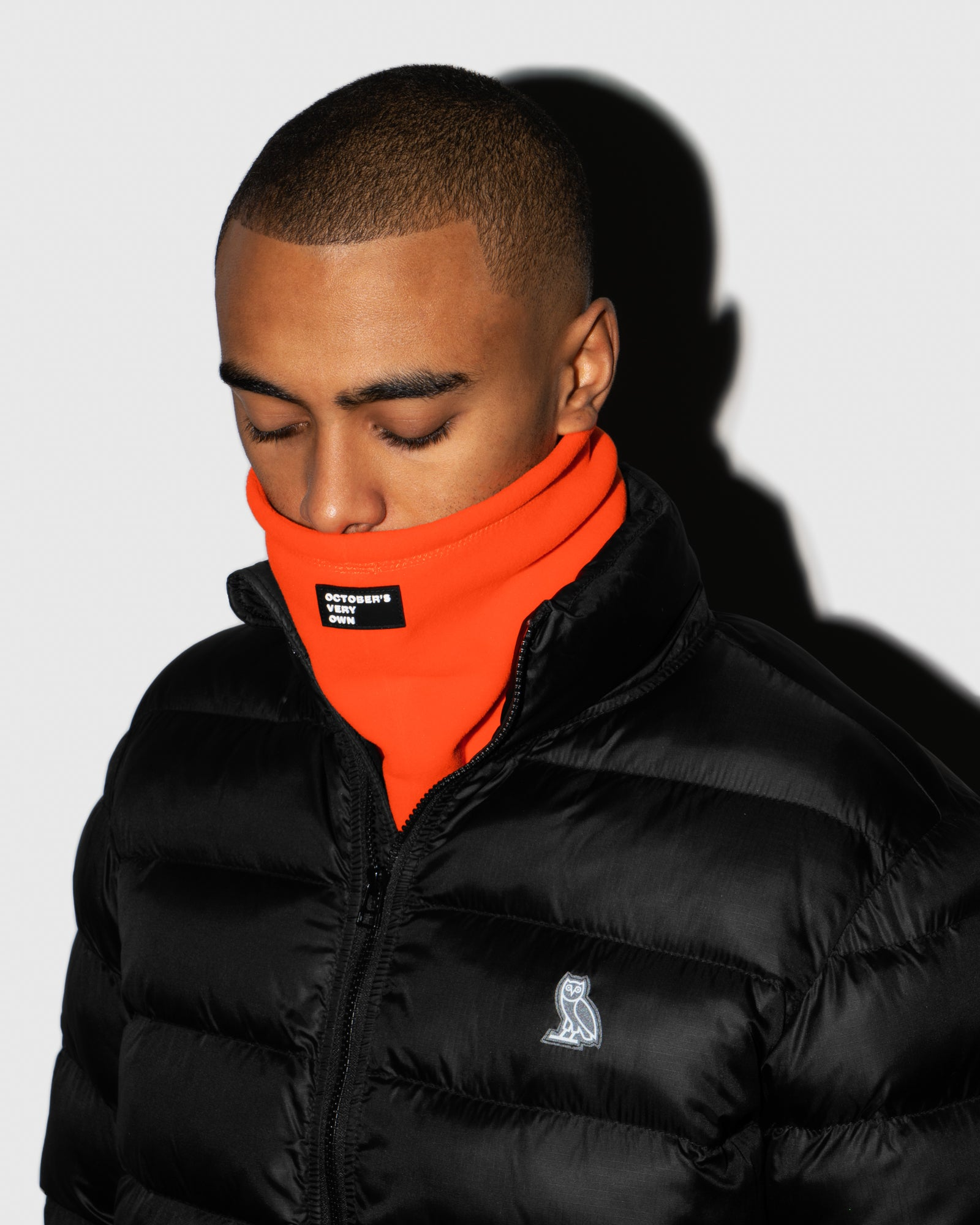 MICROFLEECE NECK WARMER - ORANGE IMAGE #2