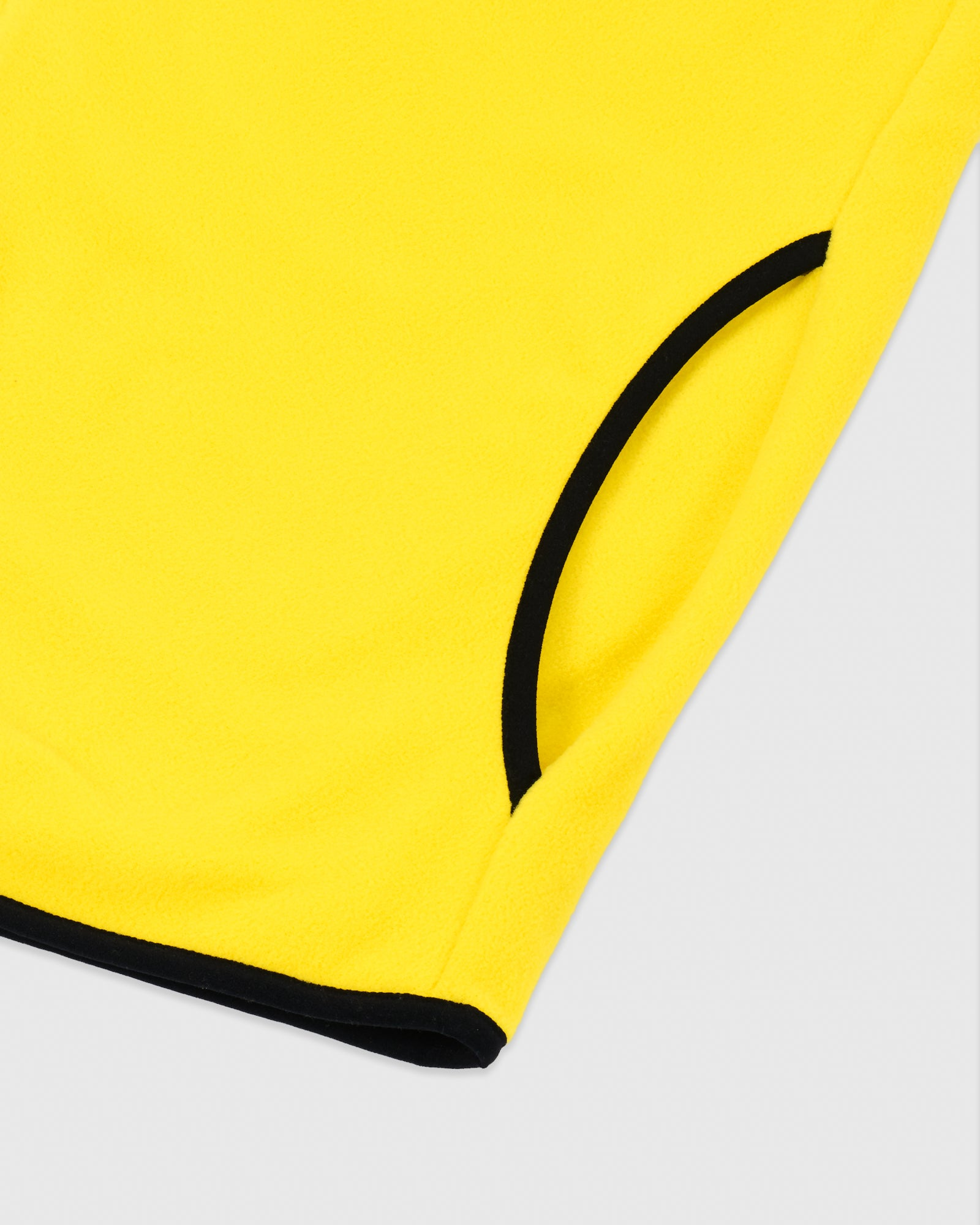 MICROFLEECE QUARTER ZIP HOODIE - YELLOW IMAGE #5