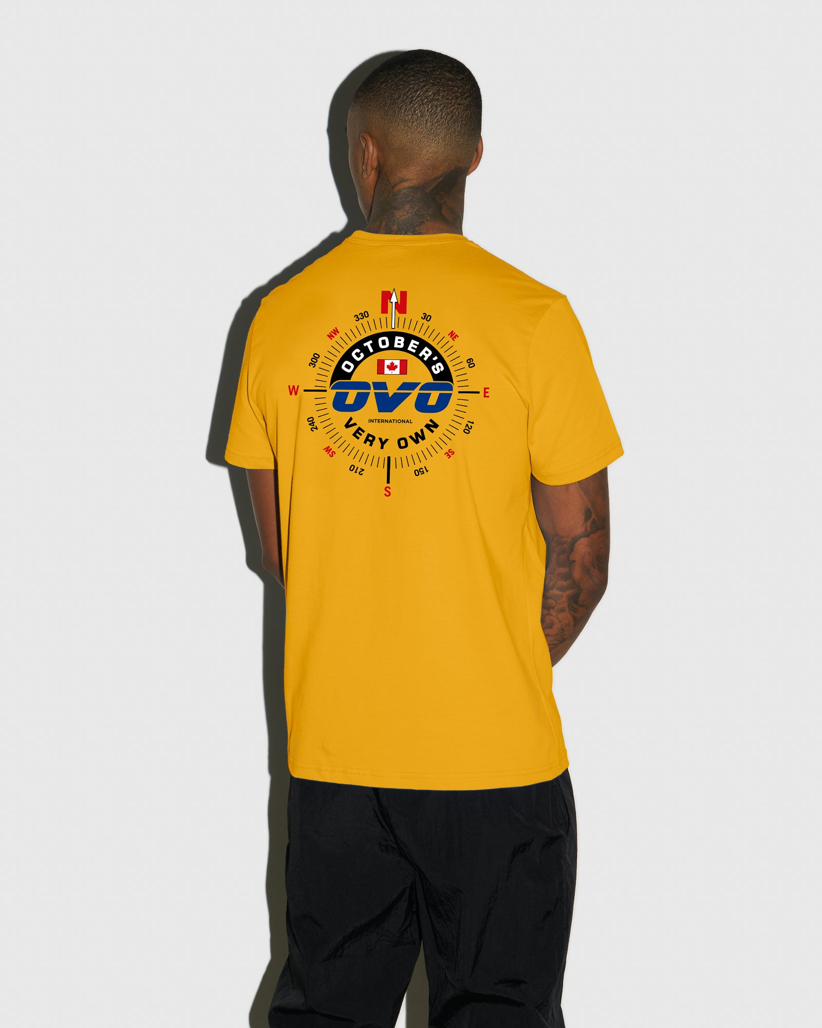 NAVIGATOR T-SHIRT - AUTUMN YELLOW IMAGE #3