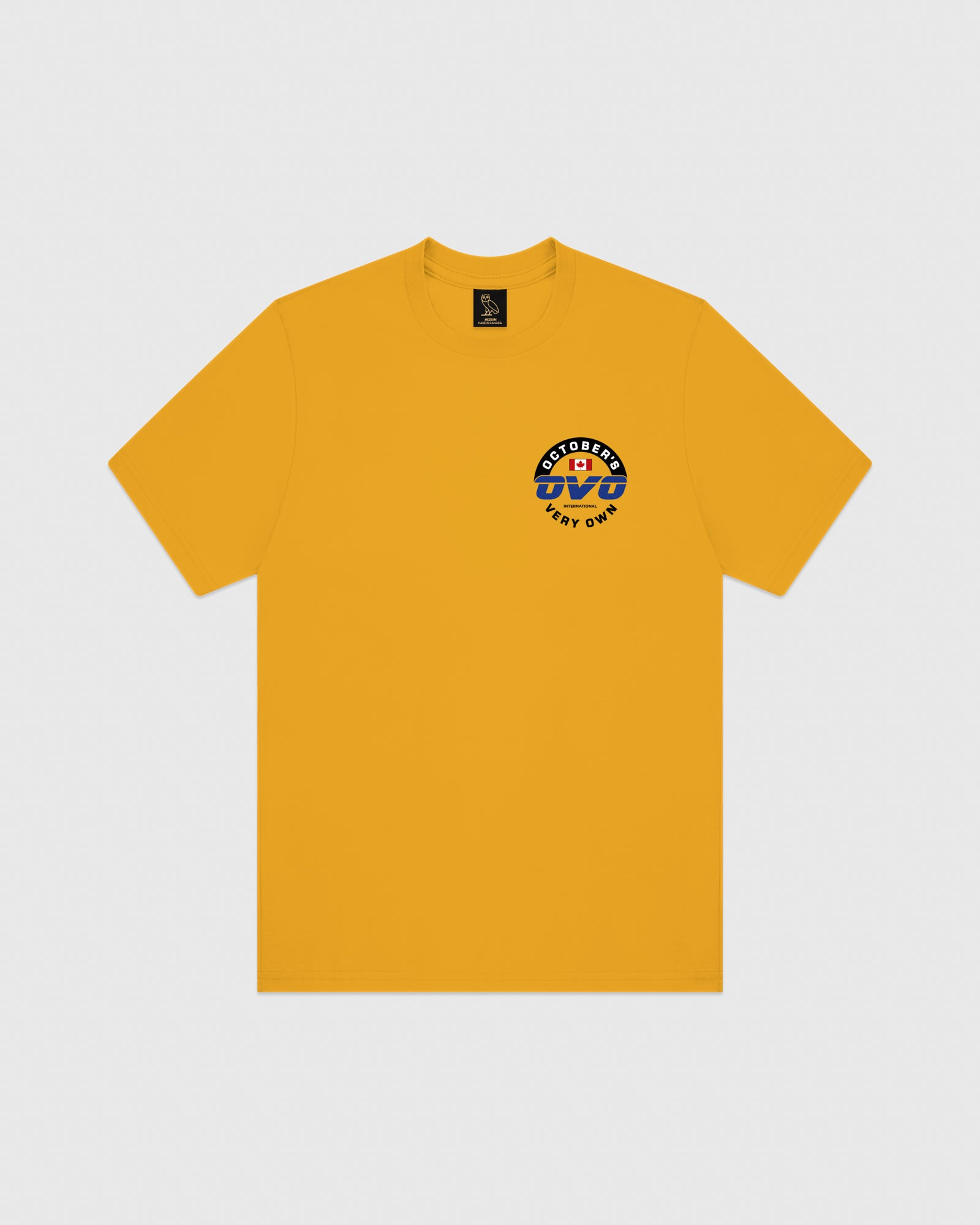 NAVIGATOR T-SHIRT - AUTUMN YELLOW IMAGE #1