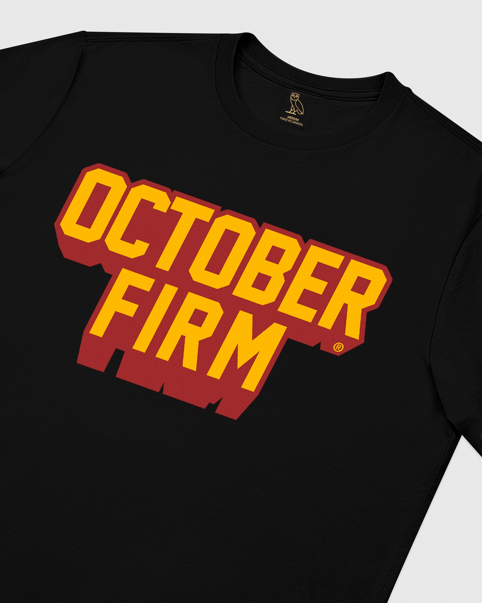 OCTOBER FIRM SHADOW T-SHIRT - BLACK IMAGE #3
