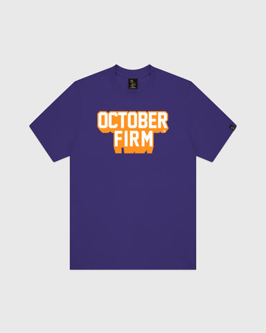 OCTOBER FIRM SHADOW T-SHIRT - PURPLE