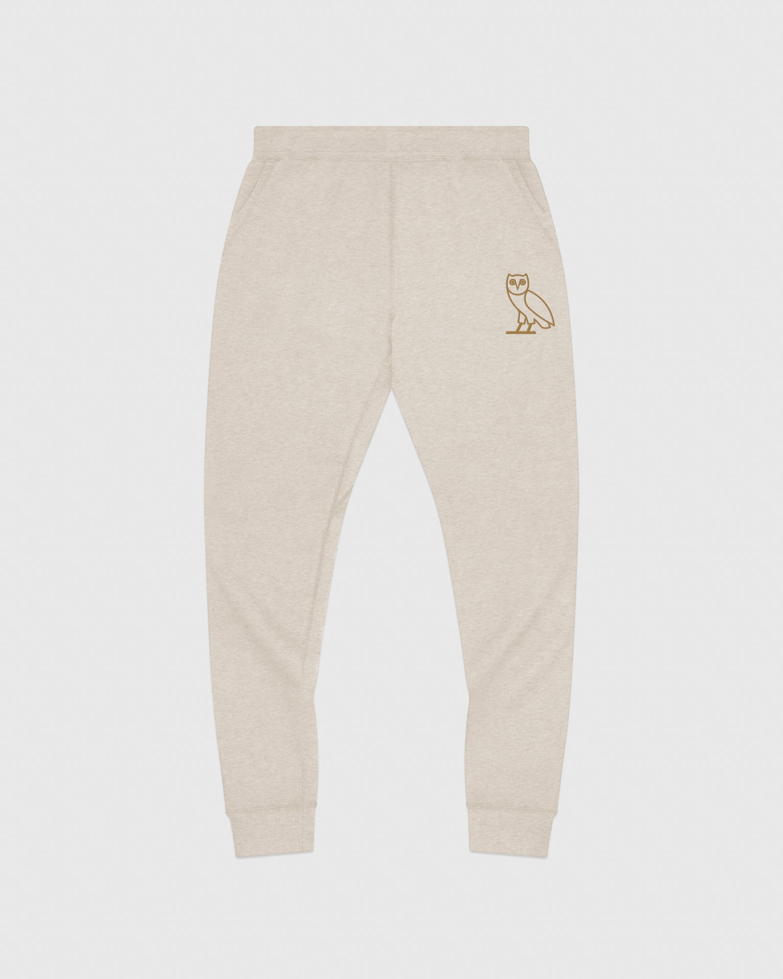 OWL SWEATPANT - HEATHER OATMEAL IMAGE #1