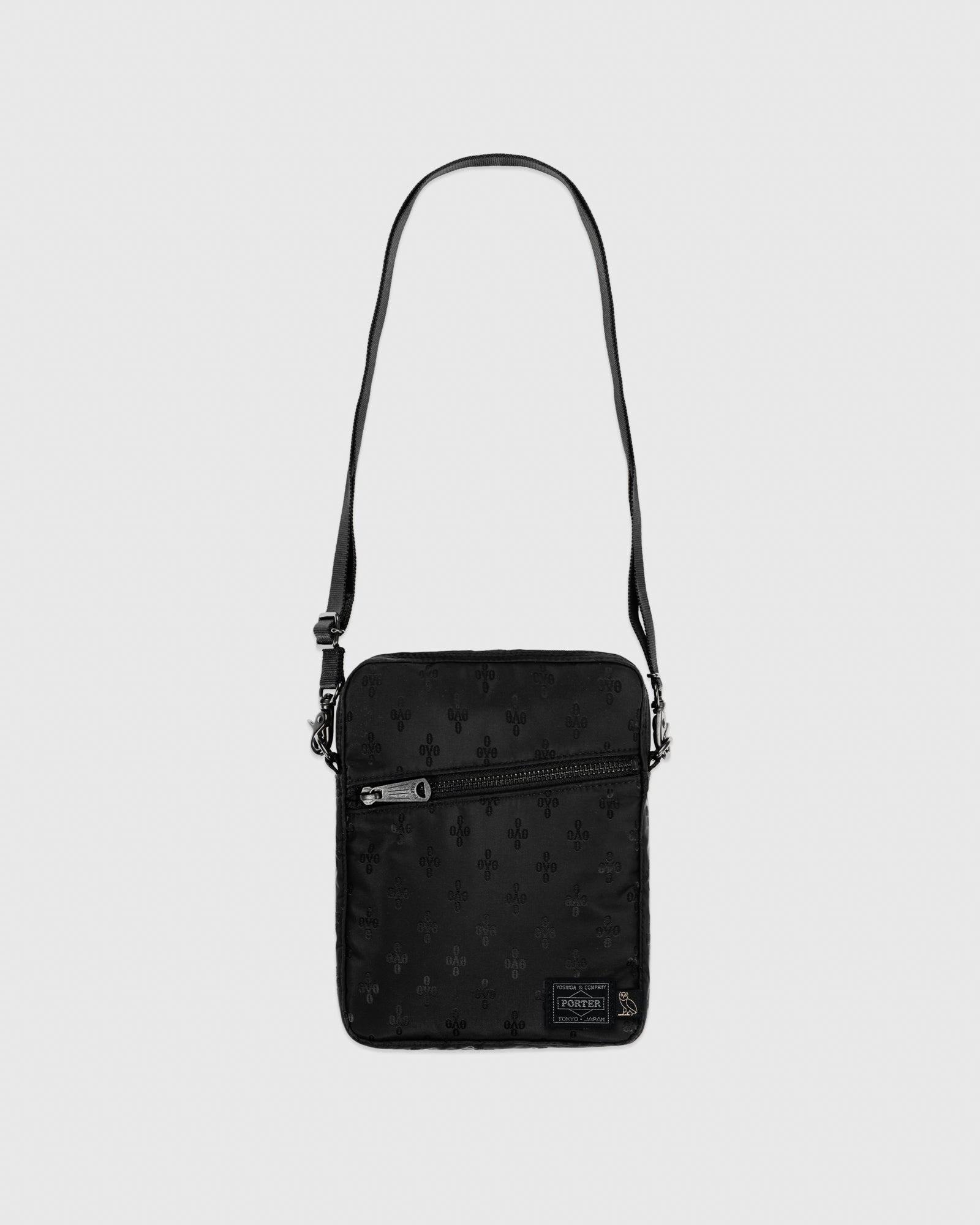 OVO X PORTER SHOULDER BAG - BLACK IMAGE #1