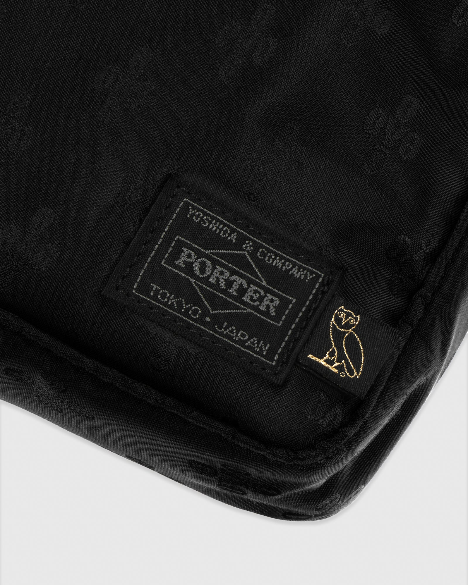 OVO X PORTER SHOULDER BAG - BLACK IMAGE #3