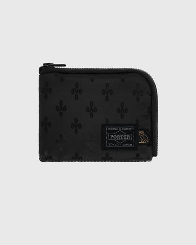 OVO X PORTER WALLET - BLACK