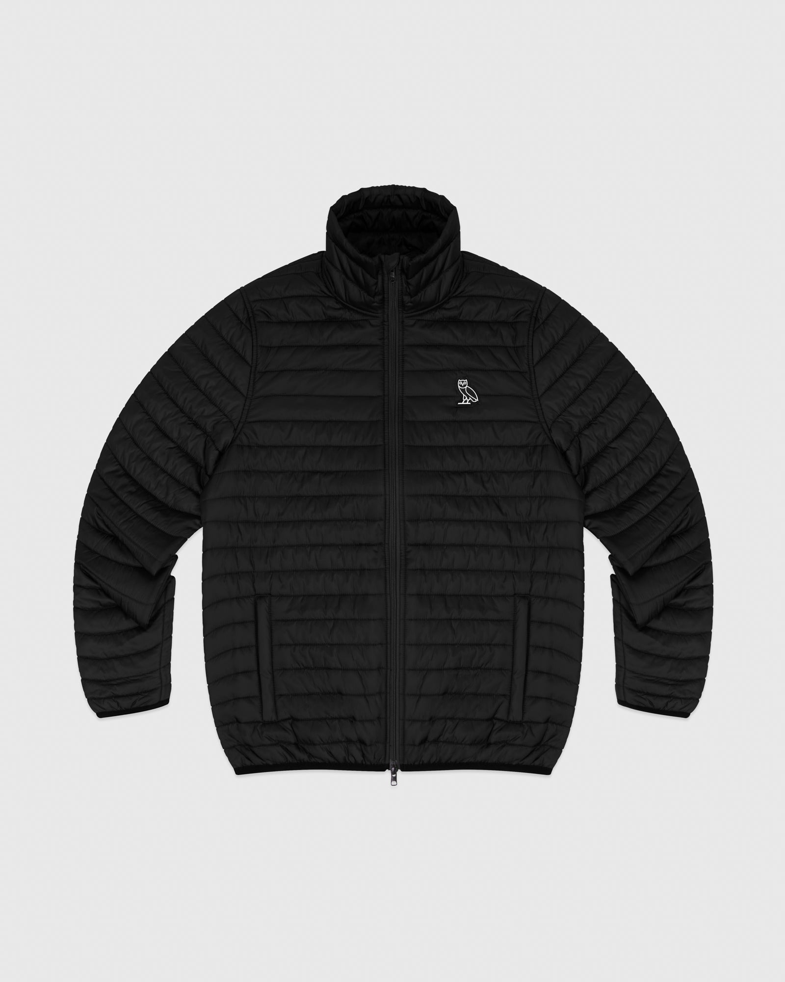 QUILTED LINER JACKET - BLACK IMAGE #1
