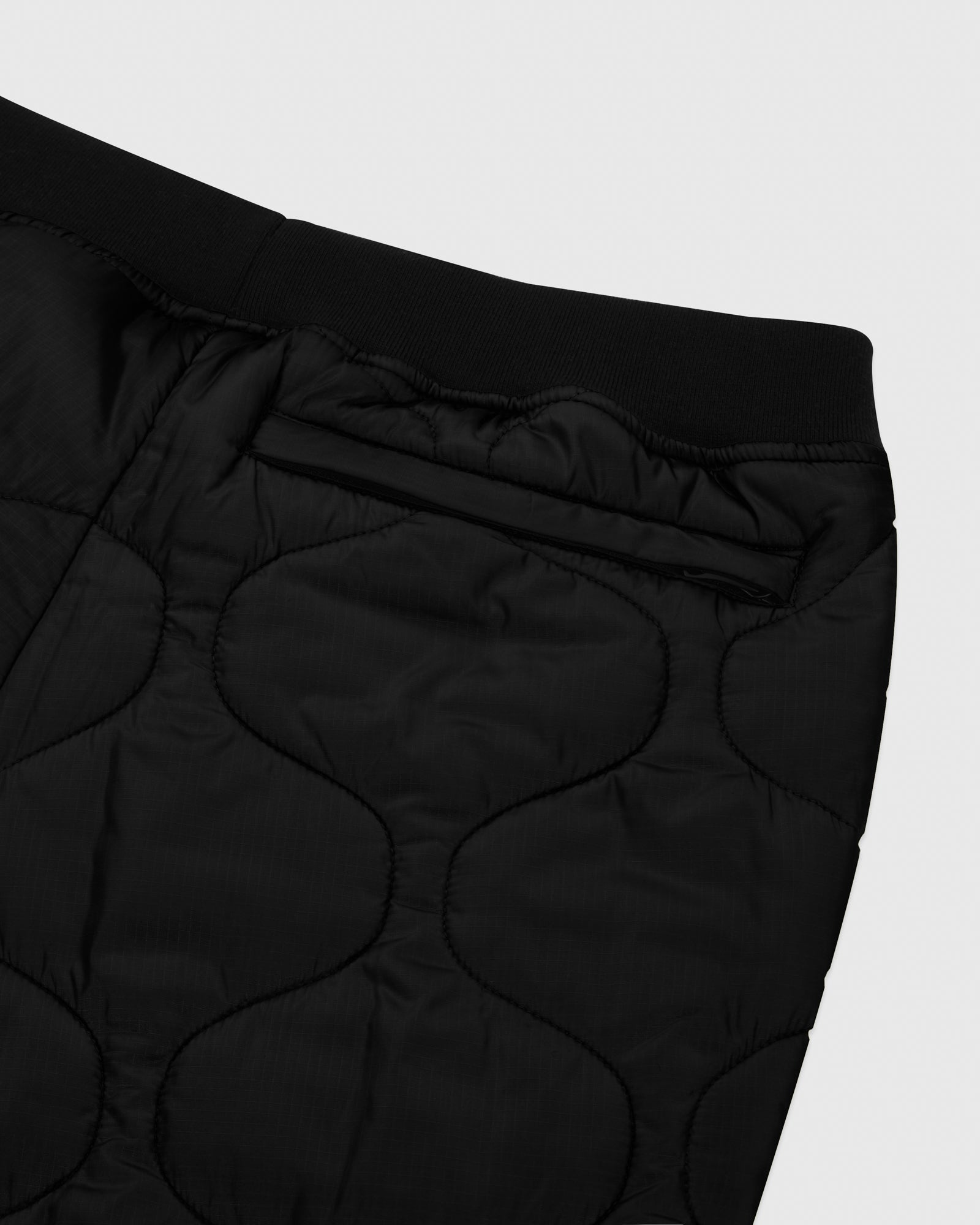 QUILTED LINER PANT - BLACK IMAGE #4