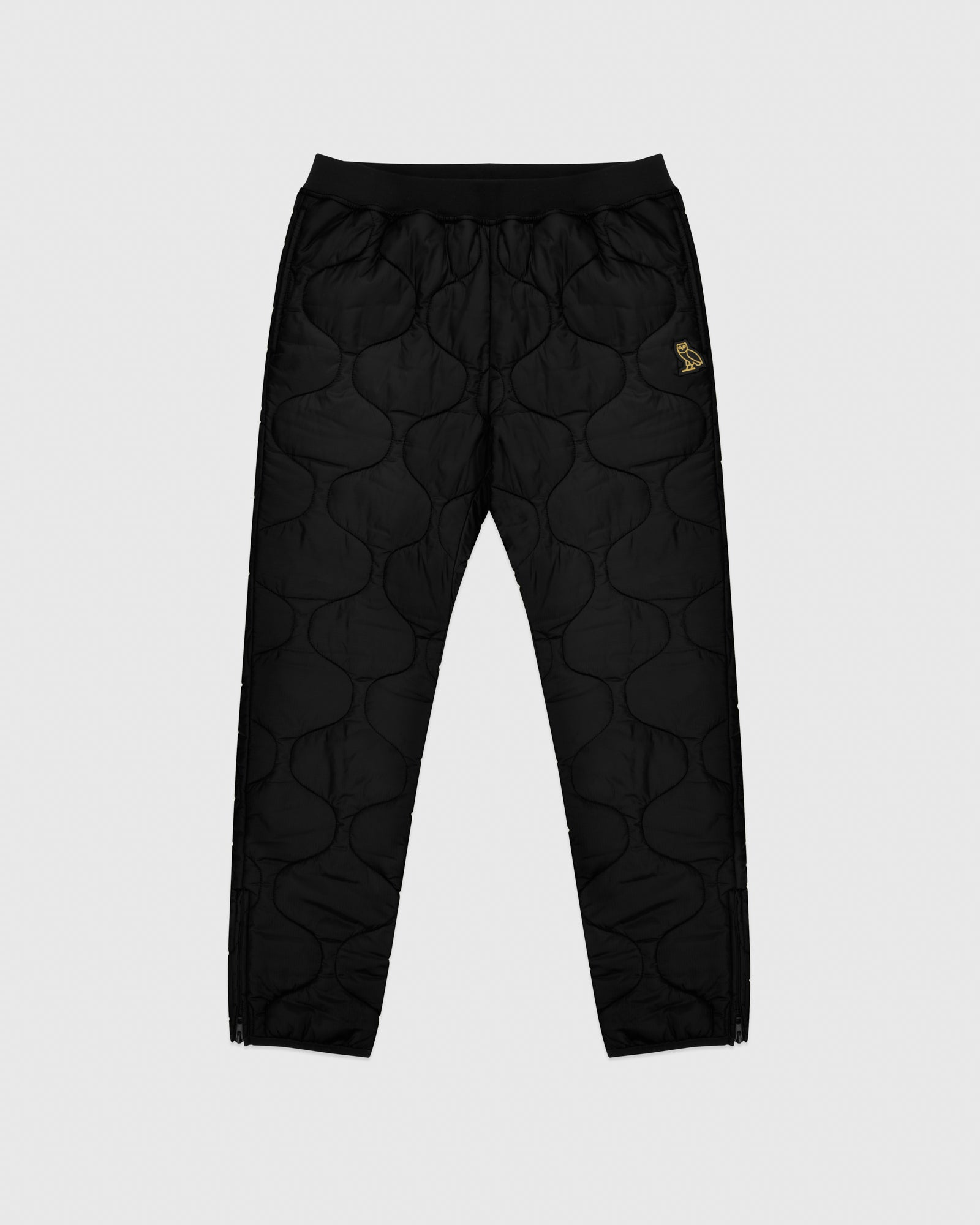 QUILTED LINER PANT - BLACK IMAGE #1