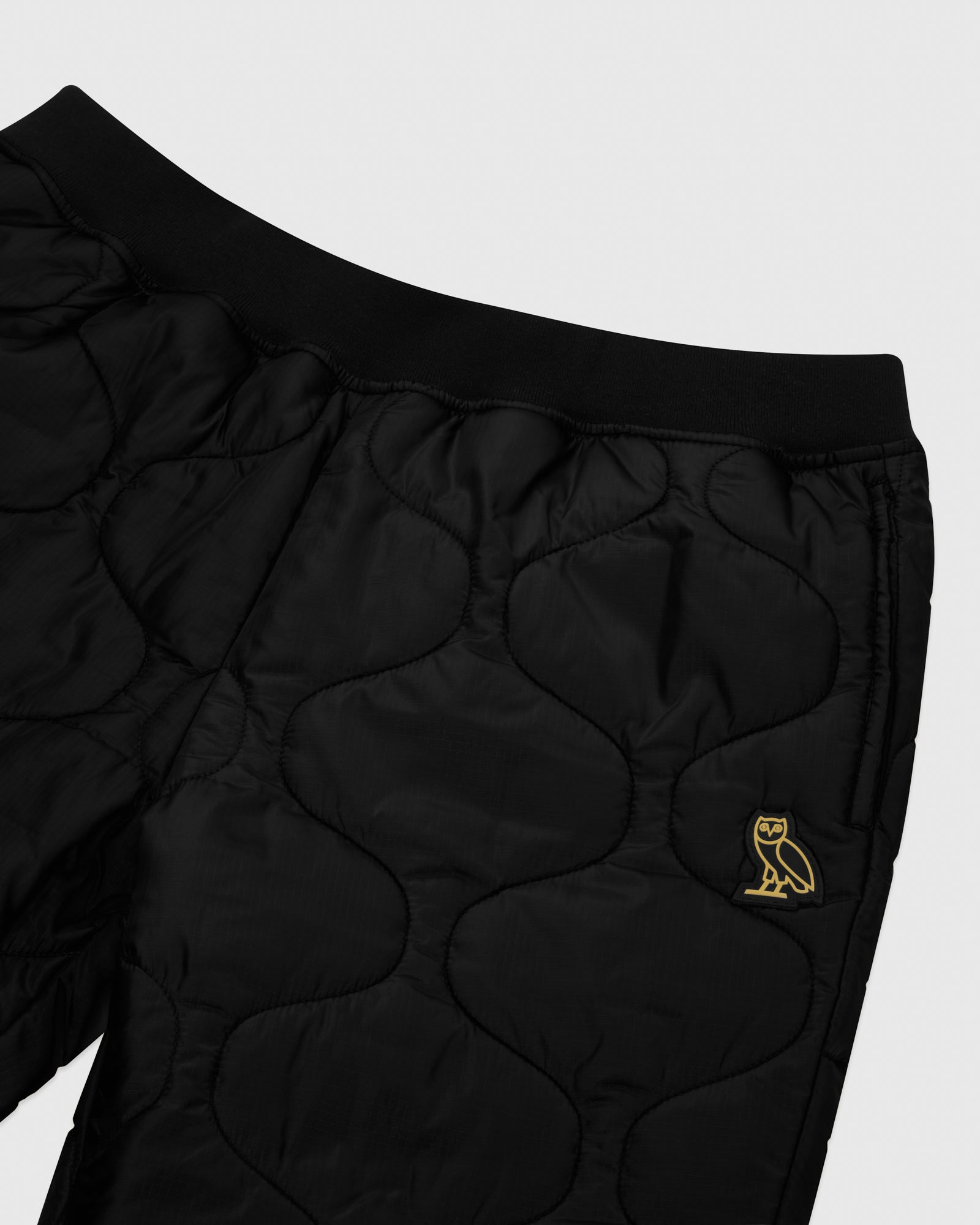 QUILTED LINER PANT - BLACK IMAGE #3