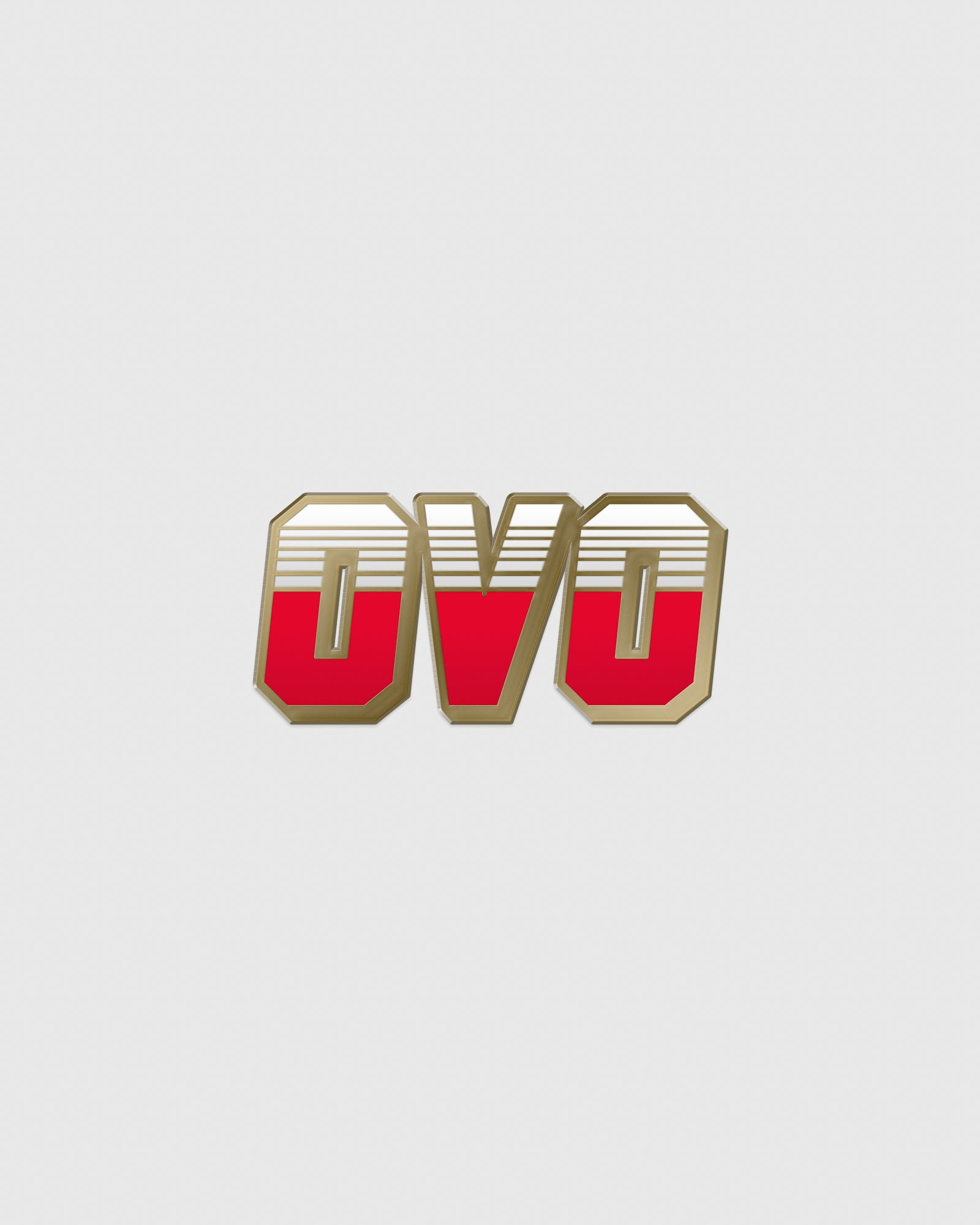 OVO RACER PIN - RED IMAGE #1