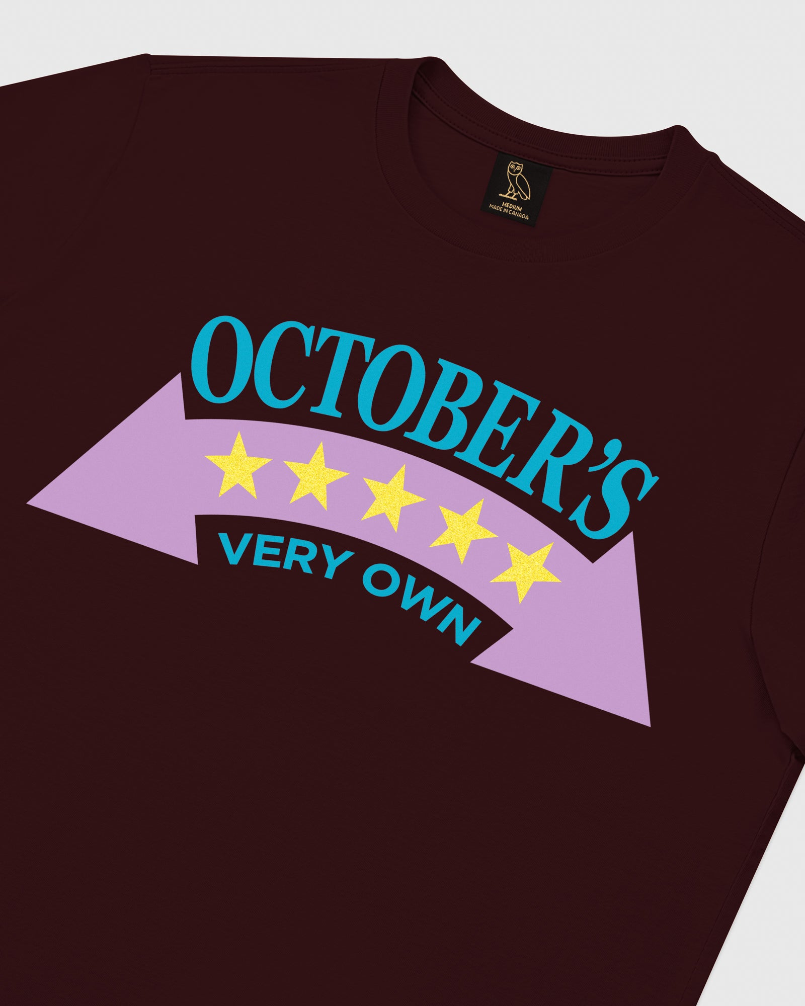 RALLY T-SHIRT - BURGUNDY IMAGE #3