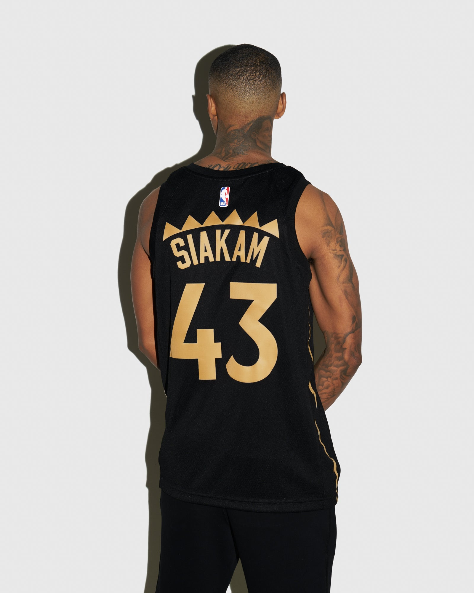 RAPTORS CITY EDITION SWINGMAN JERSEY — PASCAL SIAKAM IMAGE #3