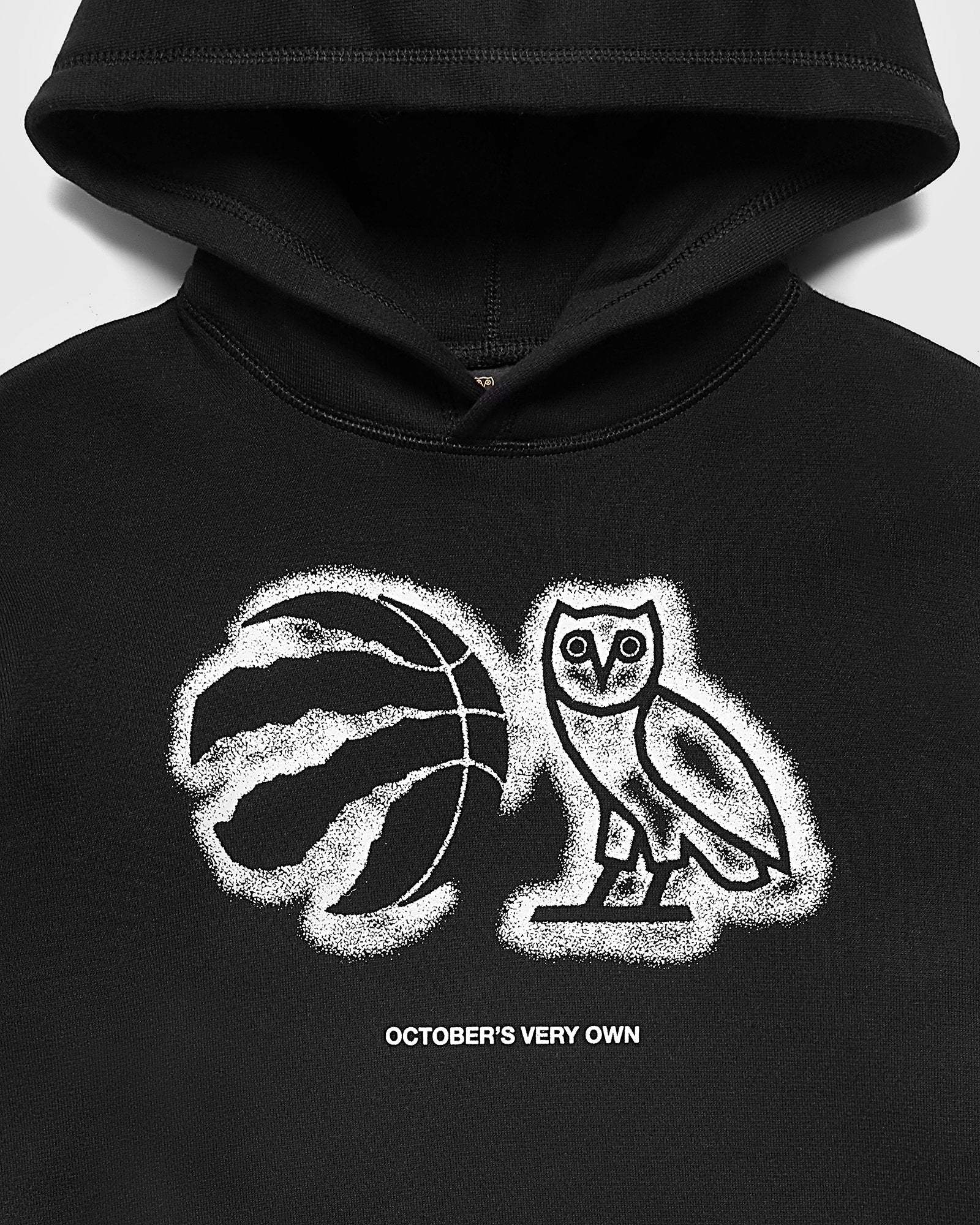 OVO ATHLETIC CENTRE HOODIE - BLACK IMAGE #3