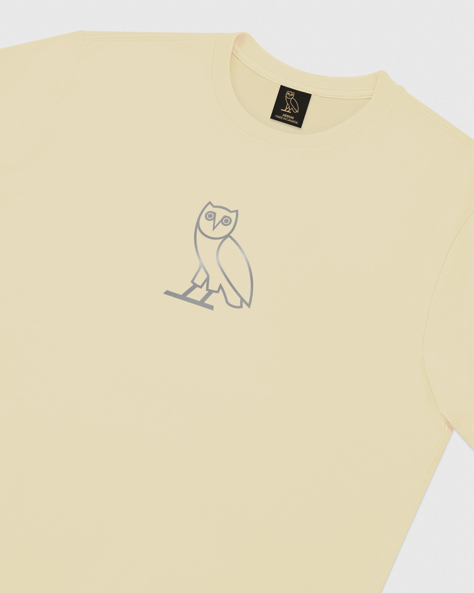REFLECTIVE CLASSIC OWL T-SHIRT - CREAM IMAGE #3