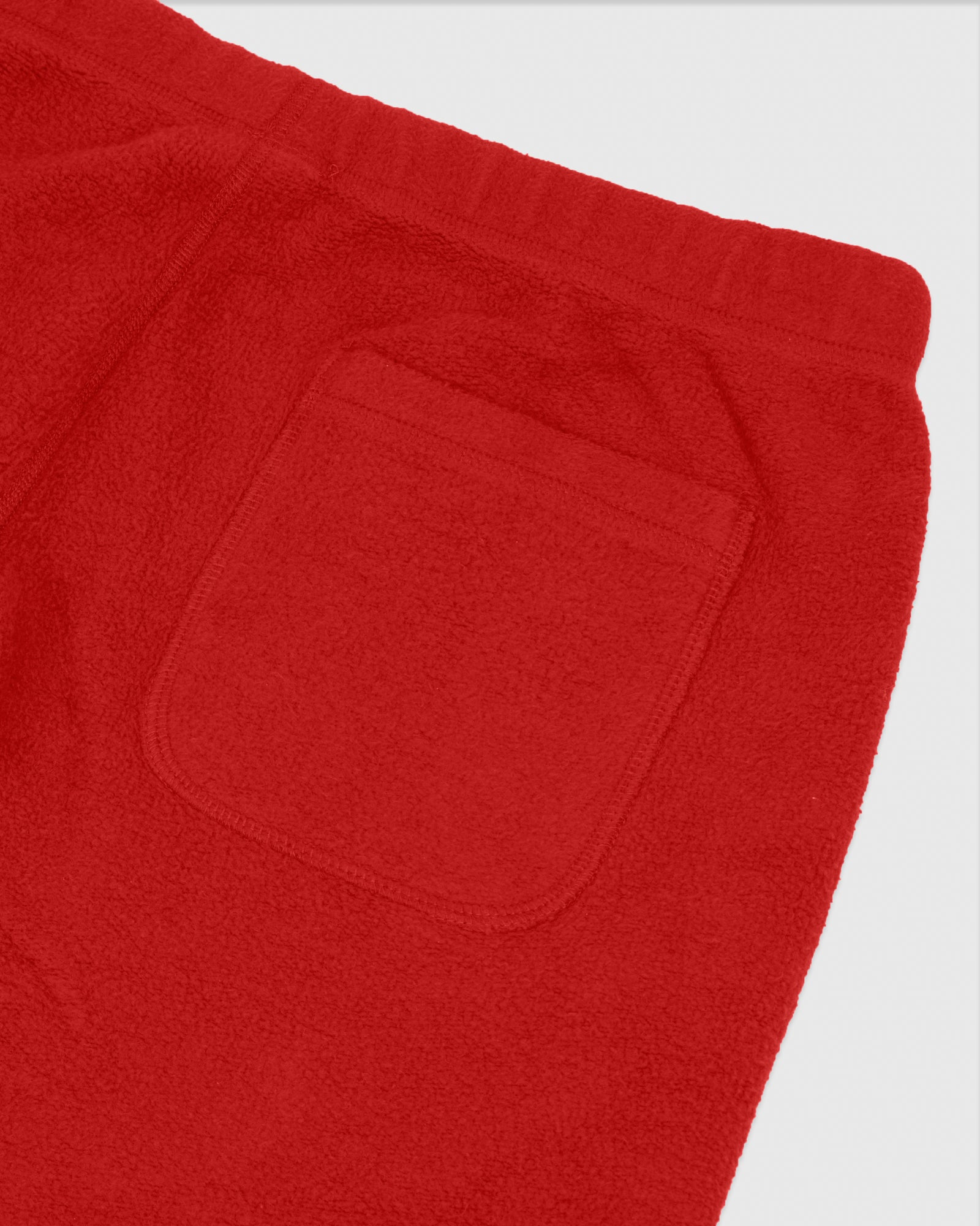 REVERSE FLEECE SWEATPANT - RED IMAGE #4