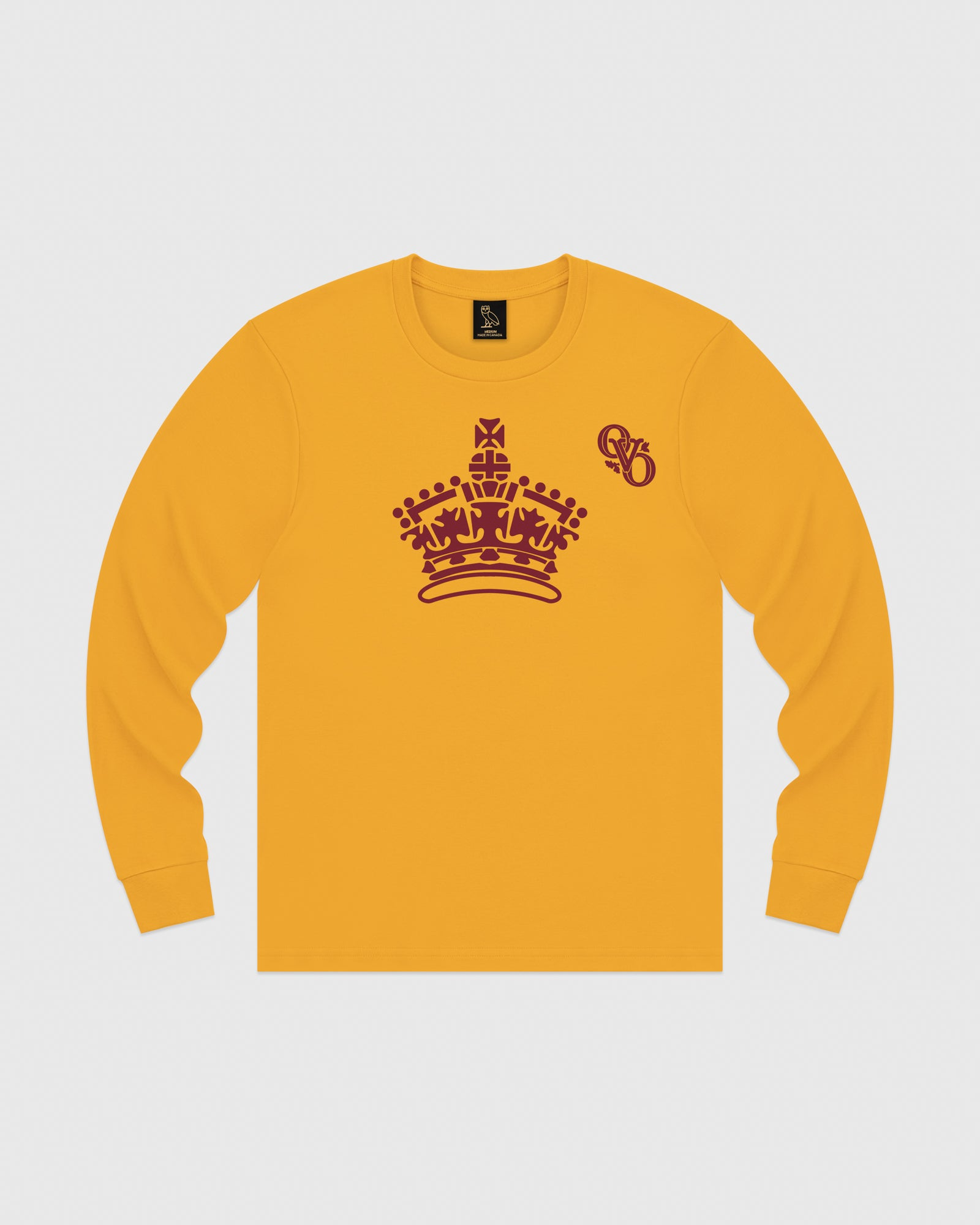ROYAL LONGSLEEVE T-SHIRT - AUTUMN YELLOW IMAGE #1