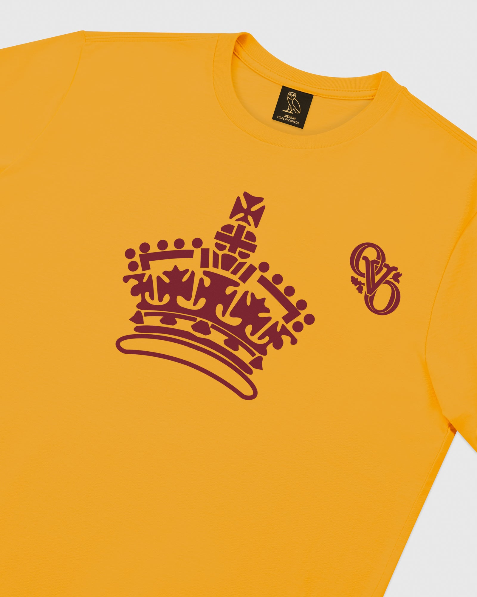 ROYAL LONGSLEEVE T-SHIRT - AUTUMN YELLOW IMAGE #3
