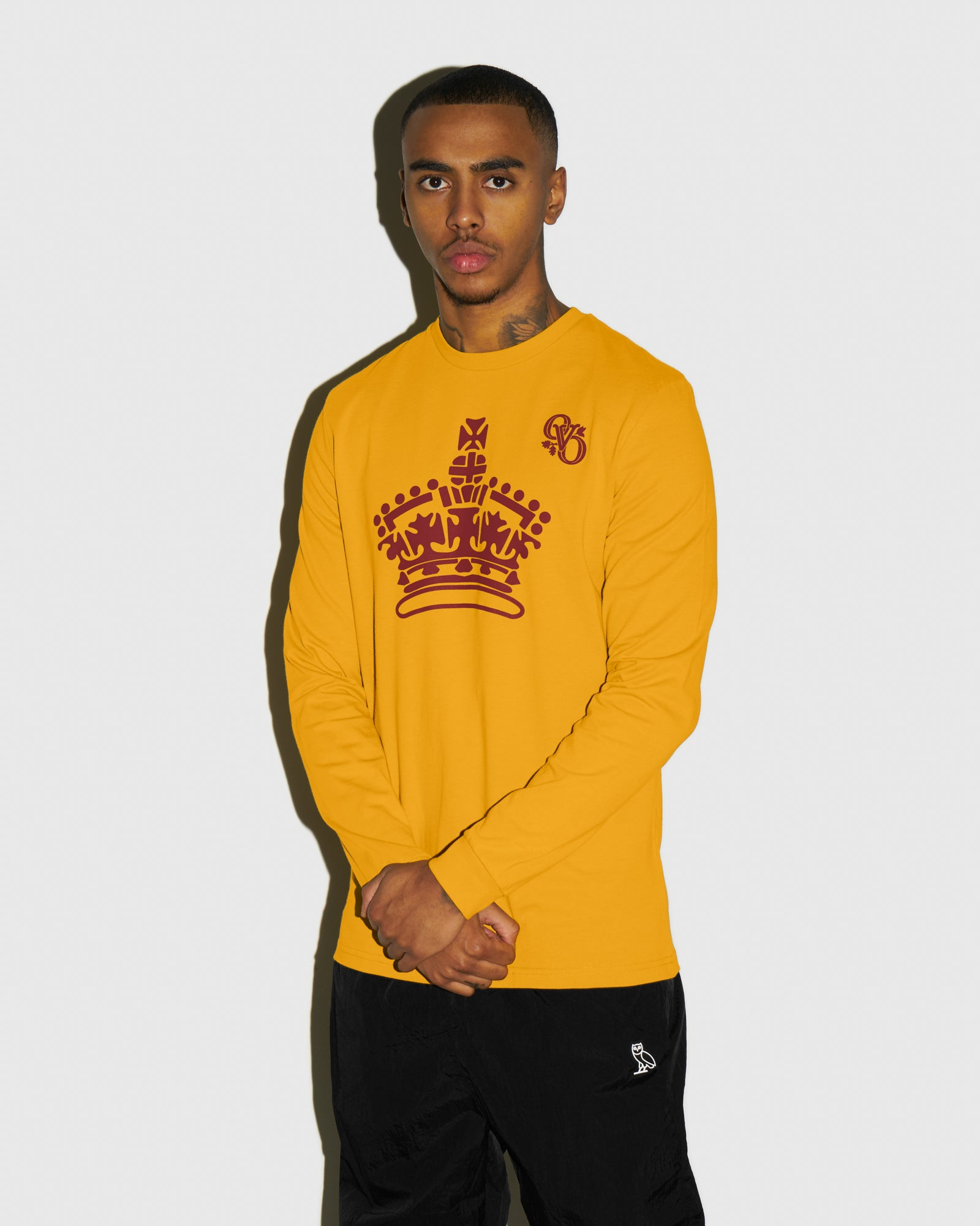 ROYAL LONGSLEEVE T-SHIRT - AUTUMN YELLOW IMAGE #2