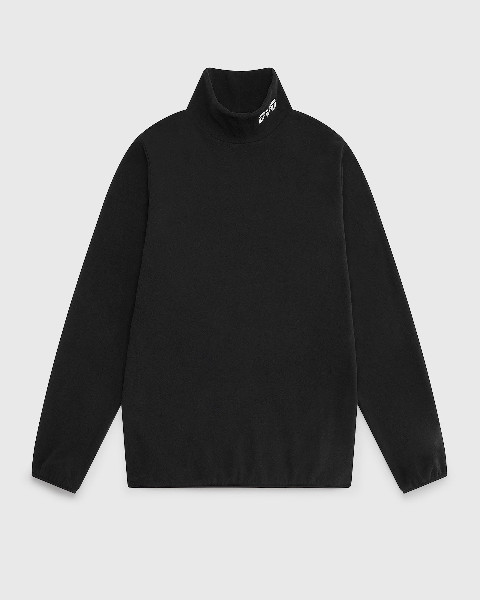 OVO RUNNER MICROFLEECE MOCK NECK - BLACK IMAGE #1