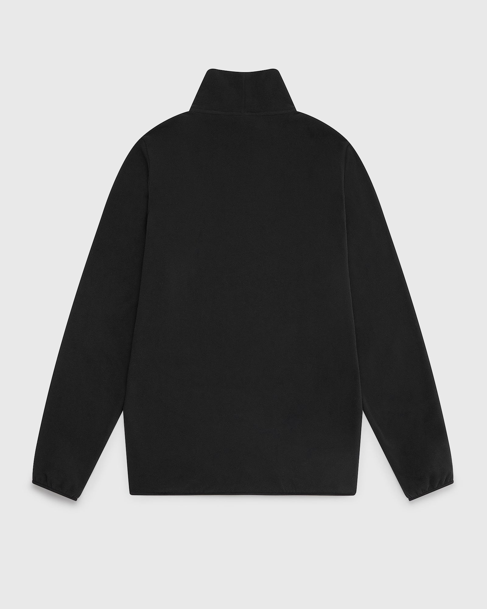 OVO RUNNER MICROFLEECE MOCK NECK - BLACK IMAGE #2