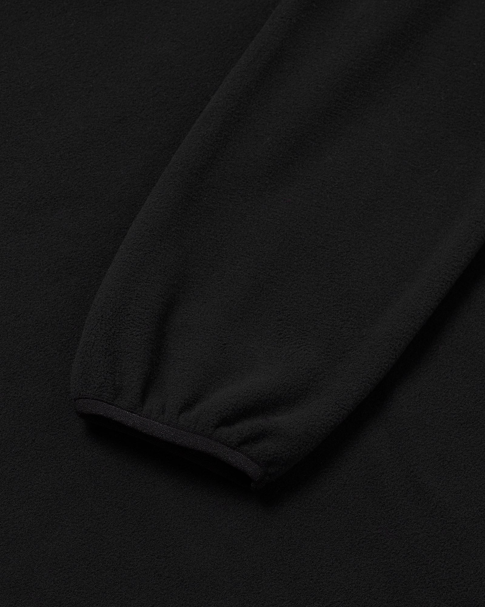 OVO RUNNER MICROFLEECE MOCK NECK - BLACK IMAGE #4