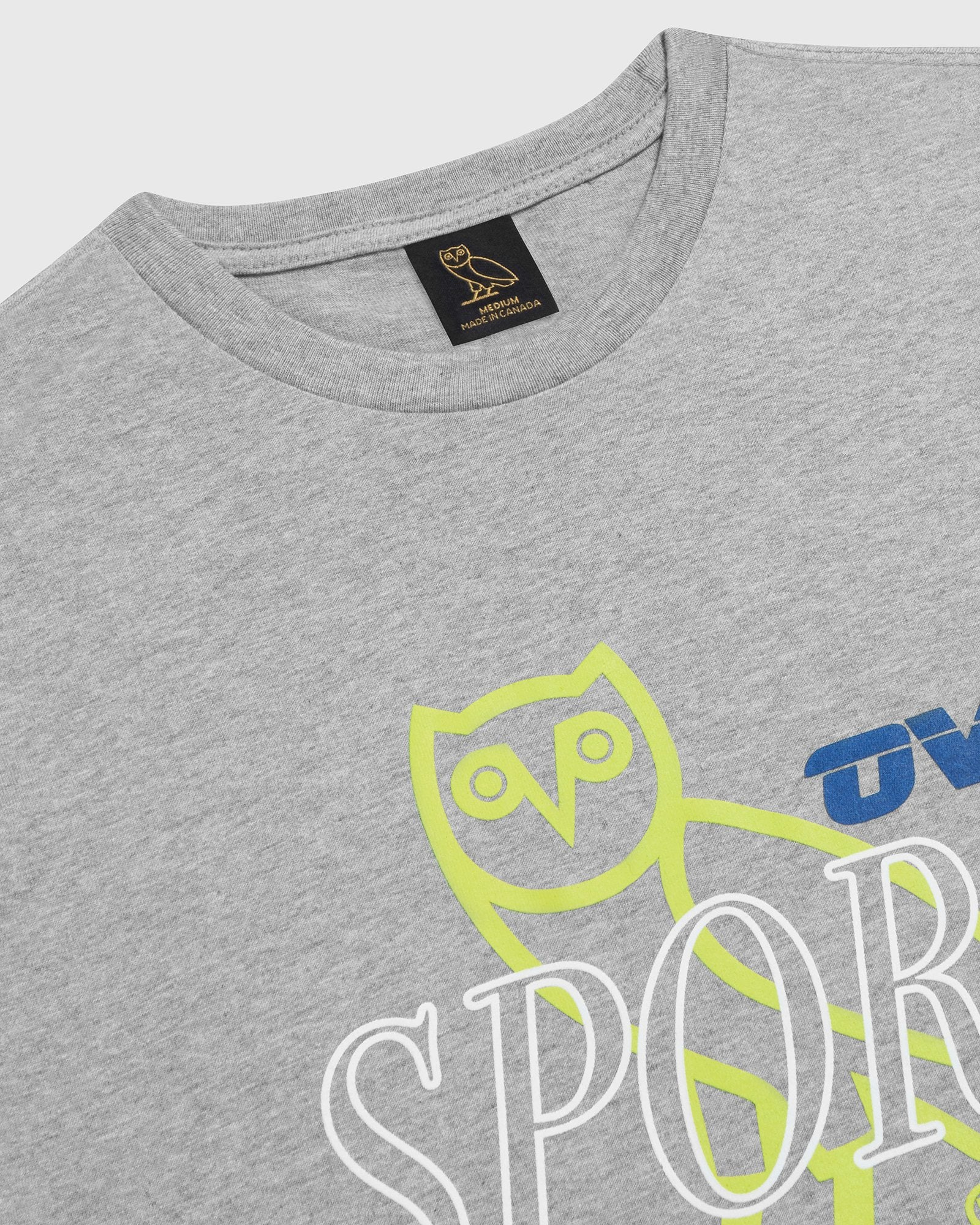OVO SPORT T-SHIRT - HEATHER GREY IMAGE #3