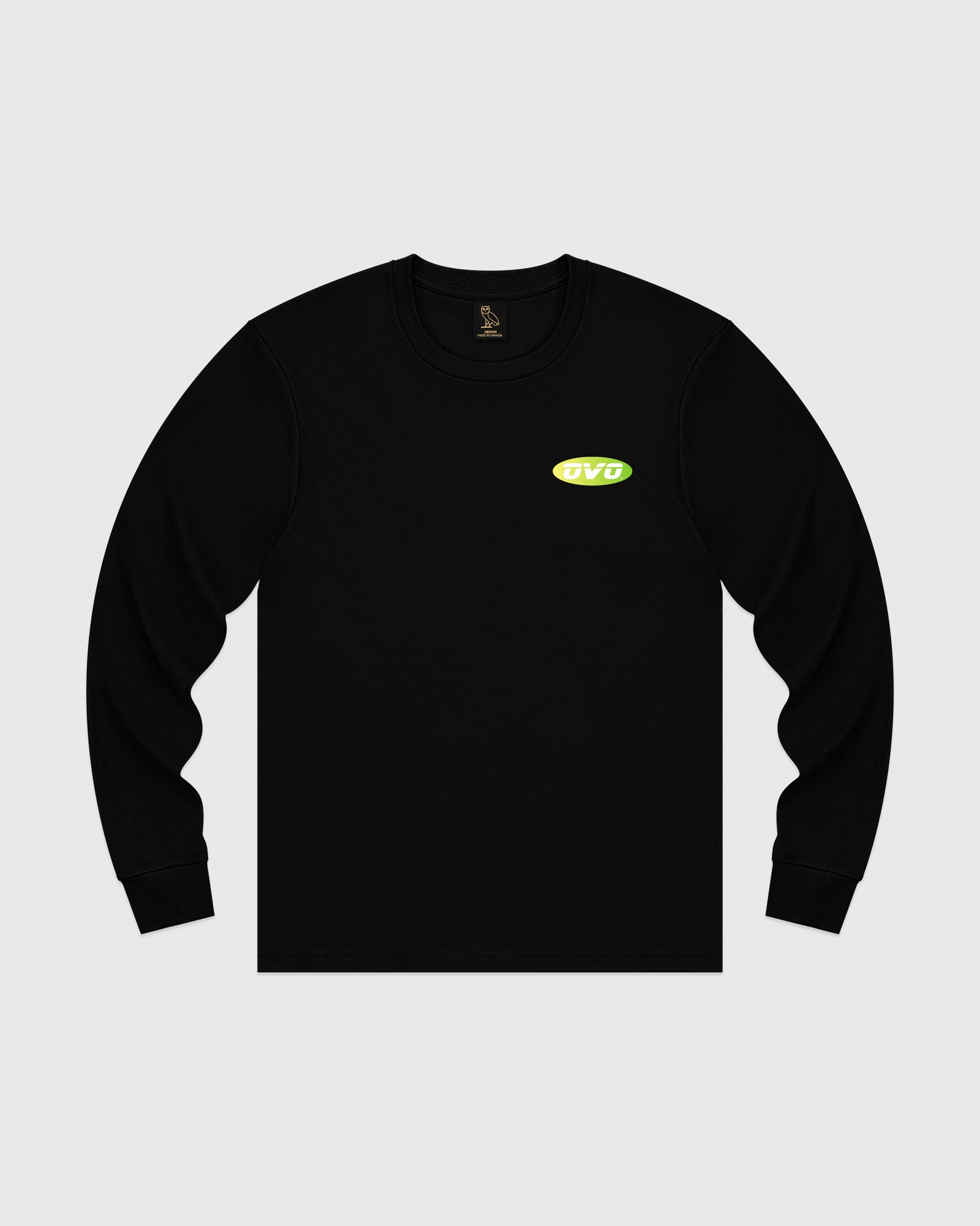 SUNSET RUNNER LONGSLEEVE T-SHIRT - BLACK IMAGE #1