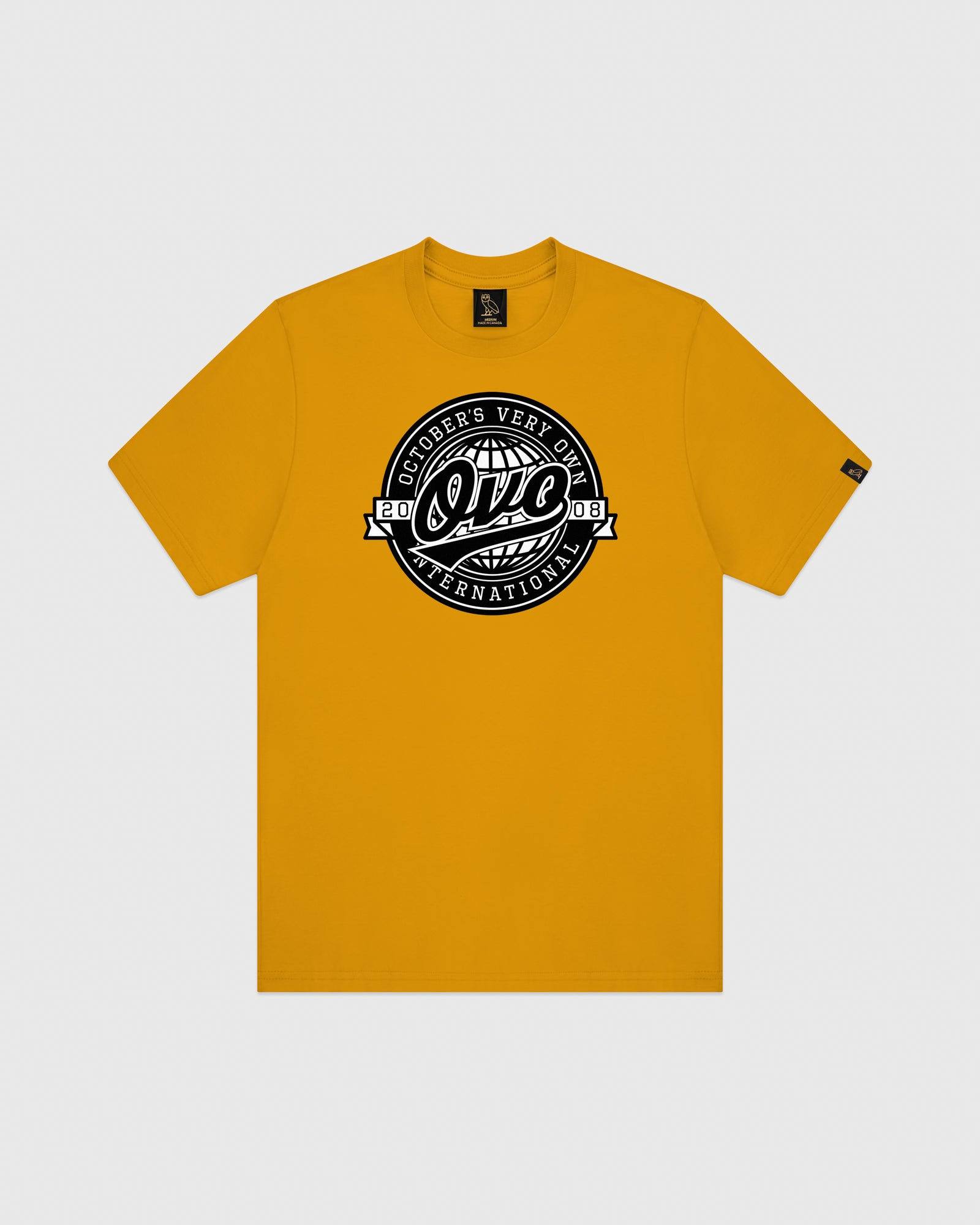 WORLD SERIES T-SHIRT - AUTUMN YELLOW IMAGE #1