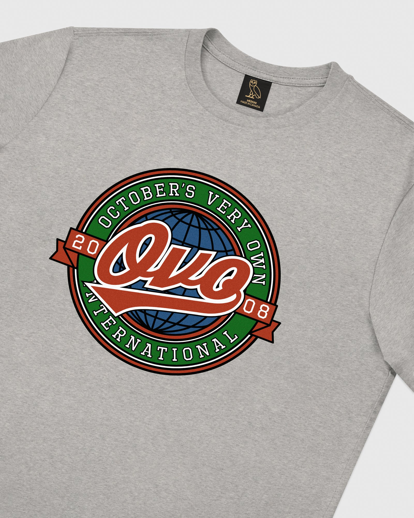 WORLD SERIES T-SHIRT - HEATHER GREY IMAGE #3