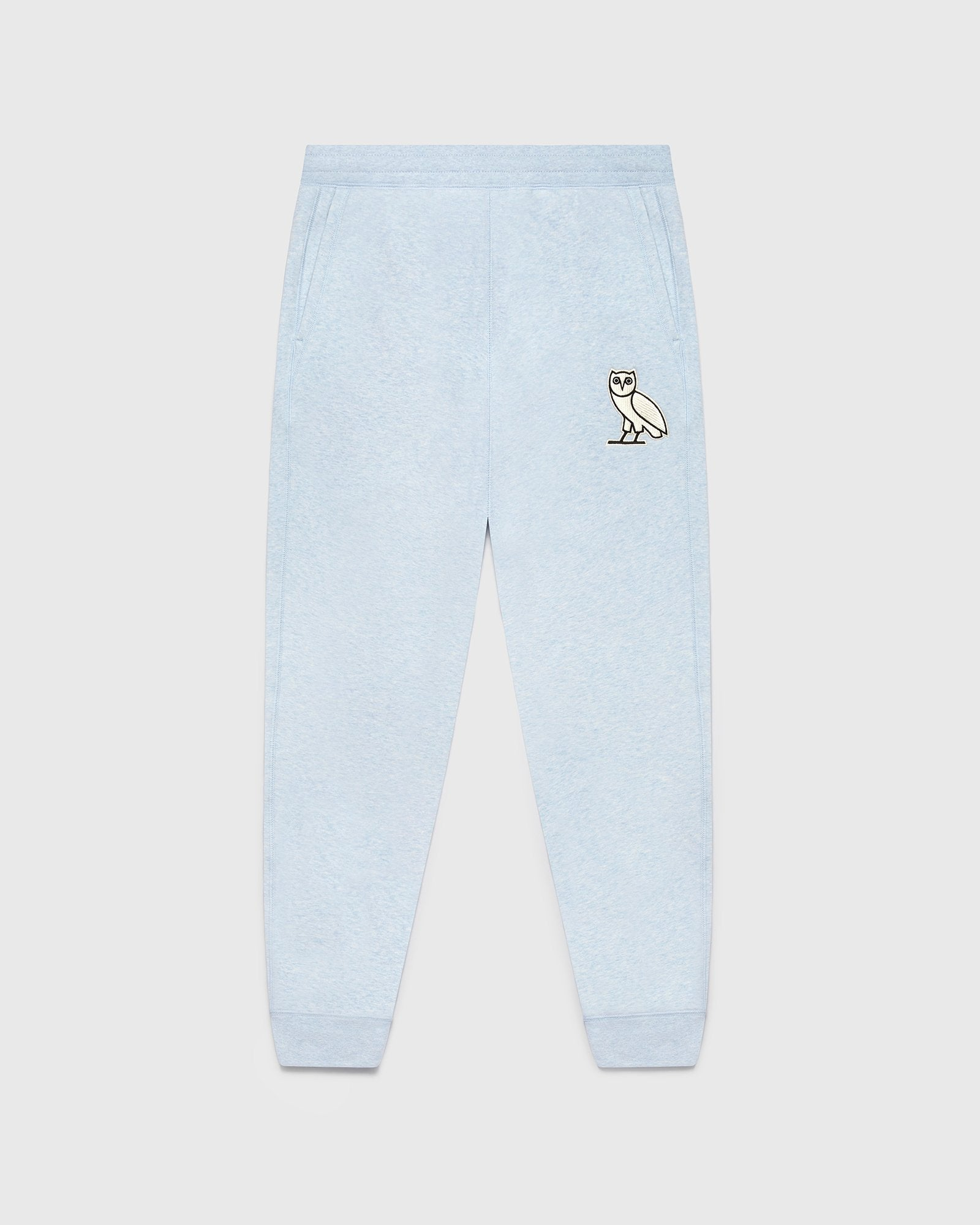 OWL PLUSH SWEATPANT - SKY BLUE IMAGE #1