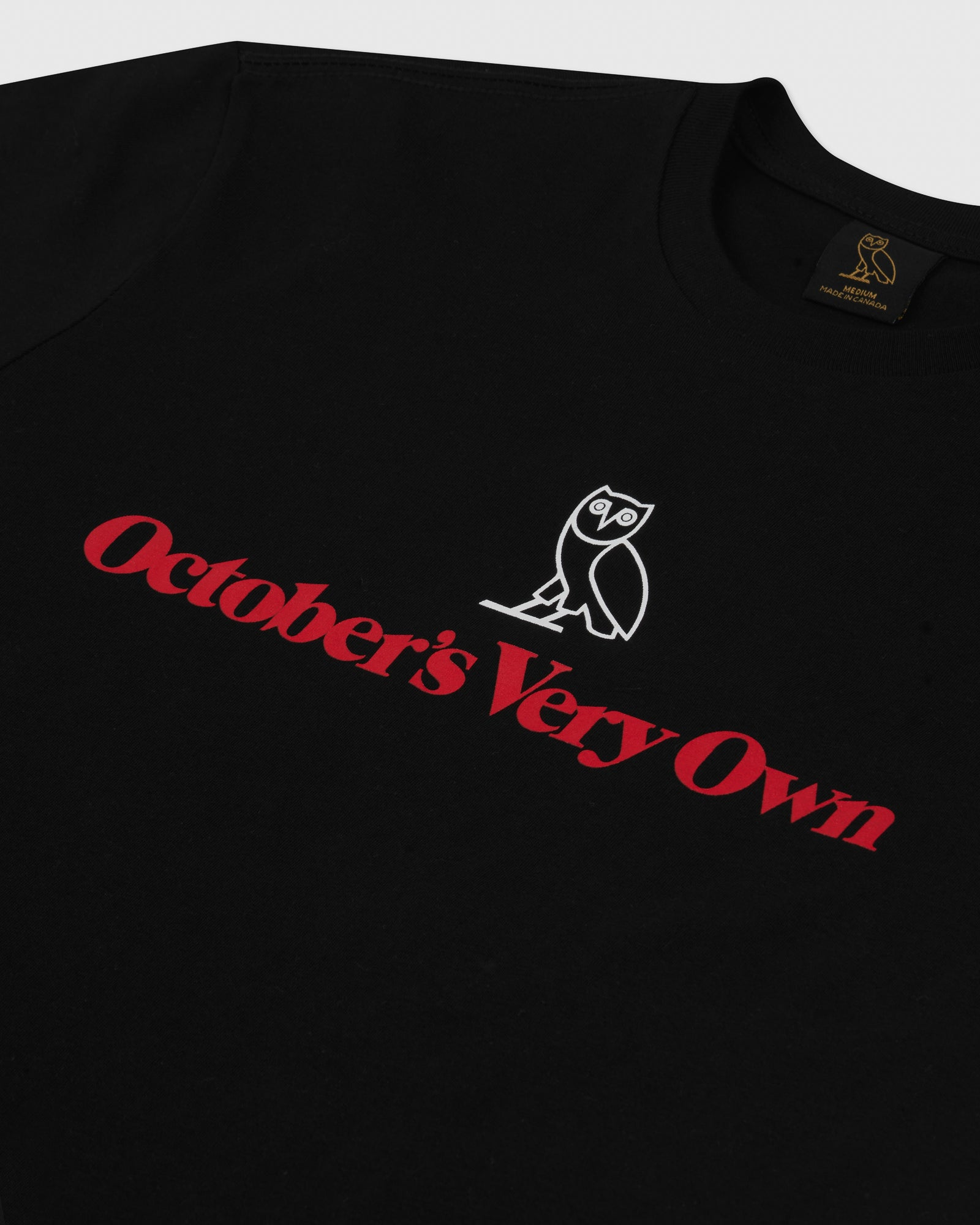 OWL WORDMARK T-SHIRT - BLACK IMAGE #2