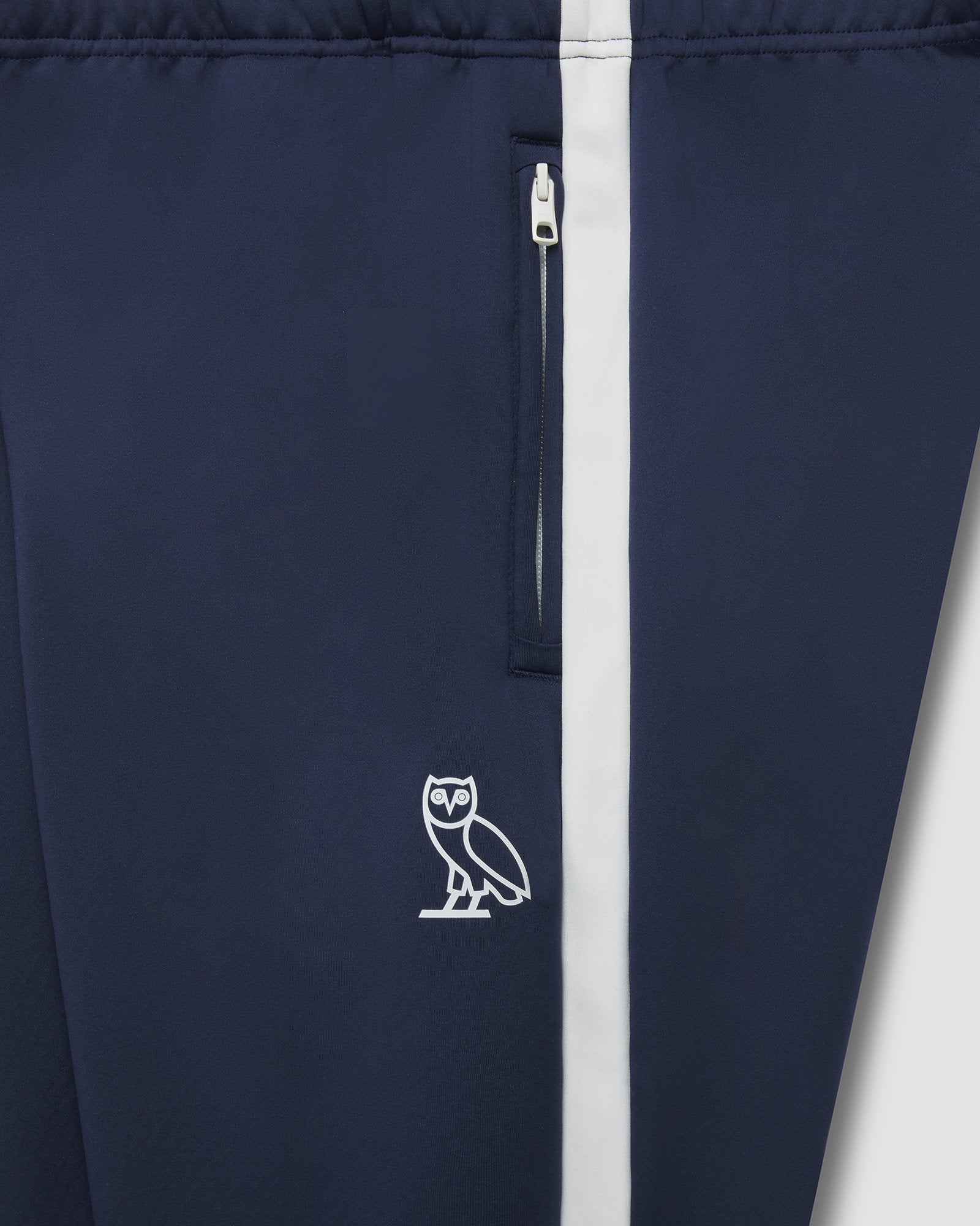 OVO HEAVYWEIGHT INSULATED TRACK PANT - NAVY IMAGE #3