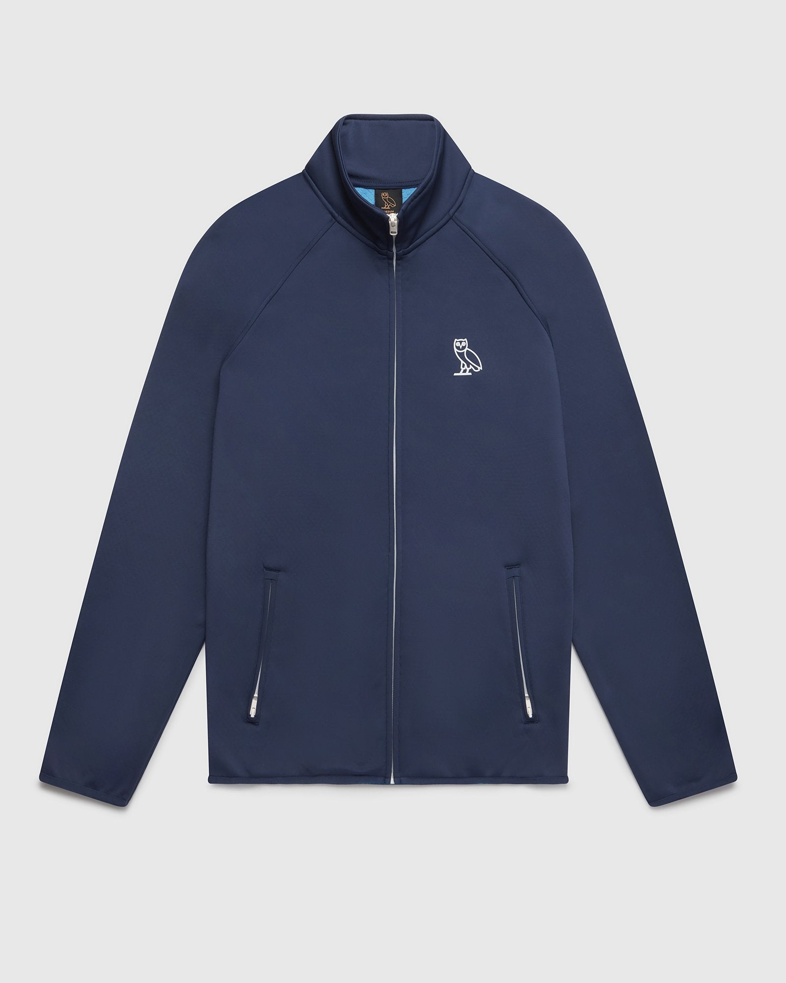 OVO HEAVYWEIGHT INSULATED TRACK JACKET - NAVY IMAGE #1