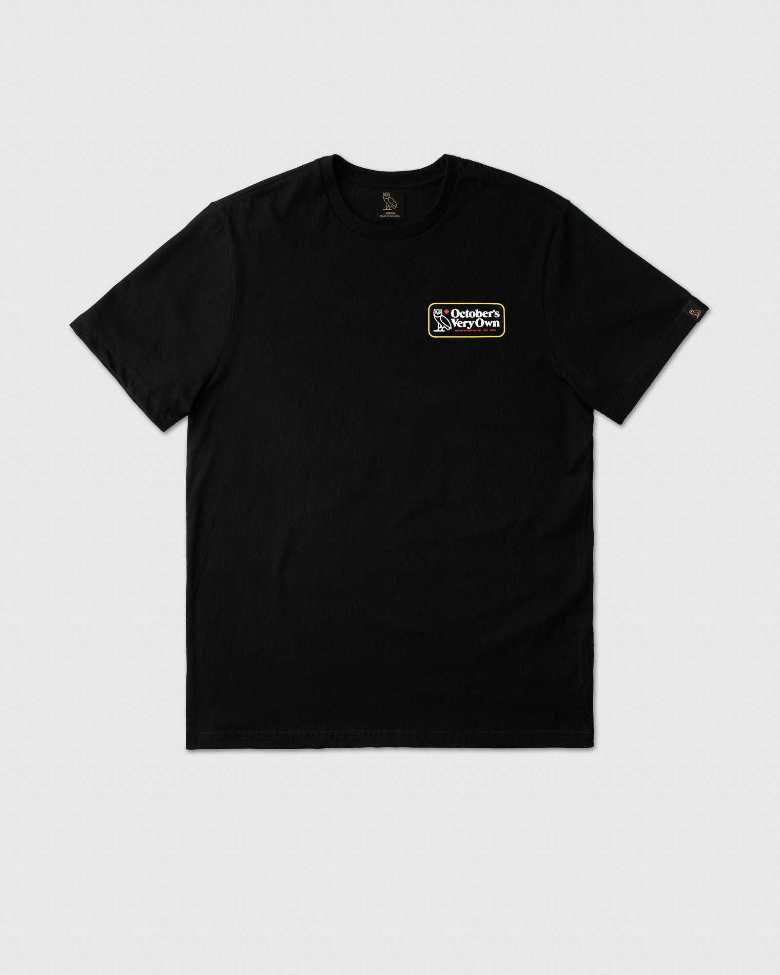 TRUE NORTH T-SHIRT - BLACK IMAGE #1