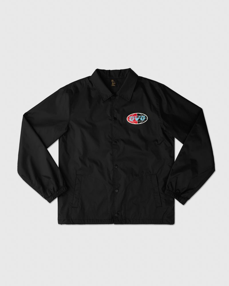 UNIVERSAL RUNNER COACH JACKET - BLACK