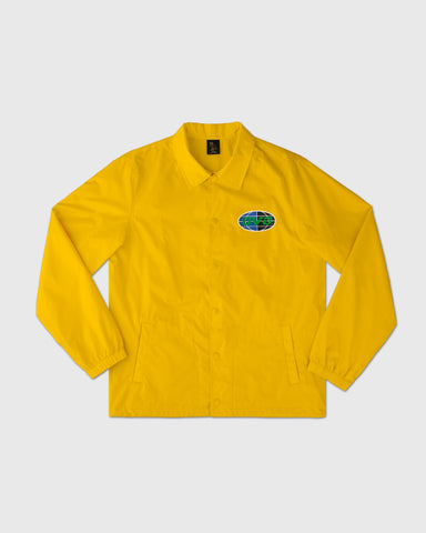 UNIVERSAL RUNNER COACH JACKET - CANARY