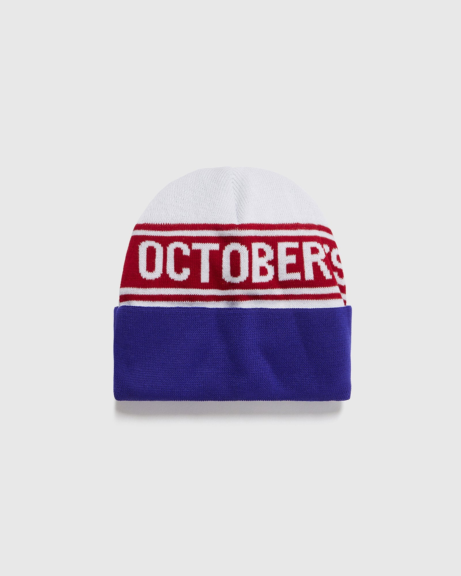 WORDMARK BEANIE - WHITE IMAGE #1