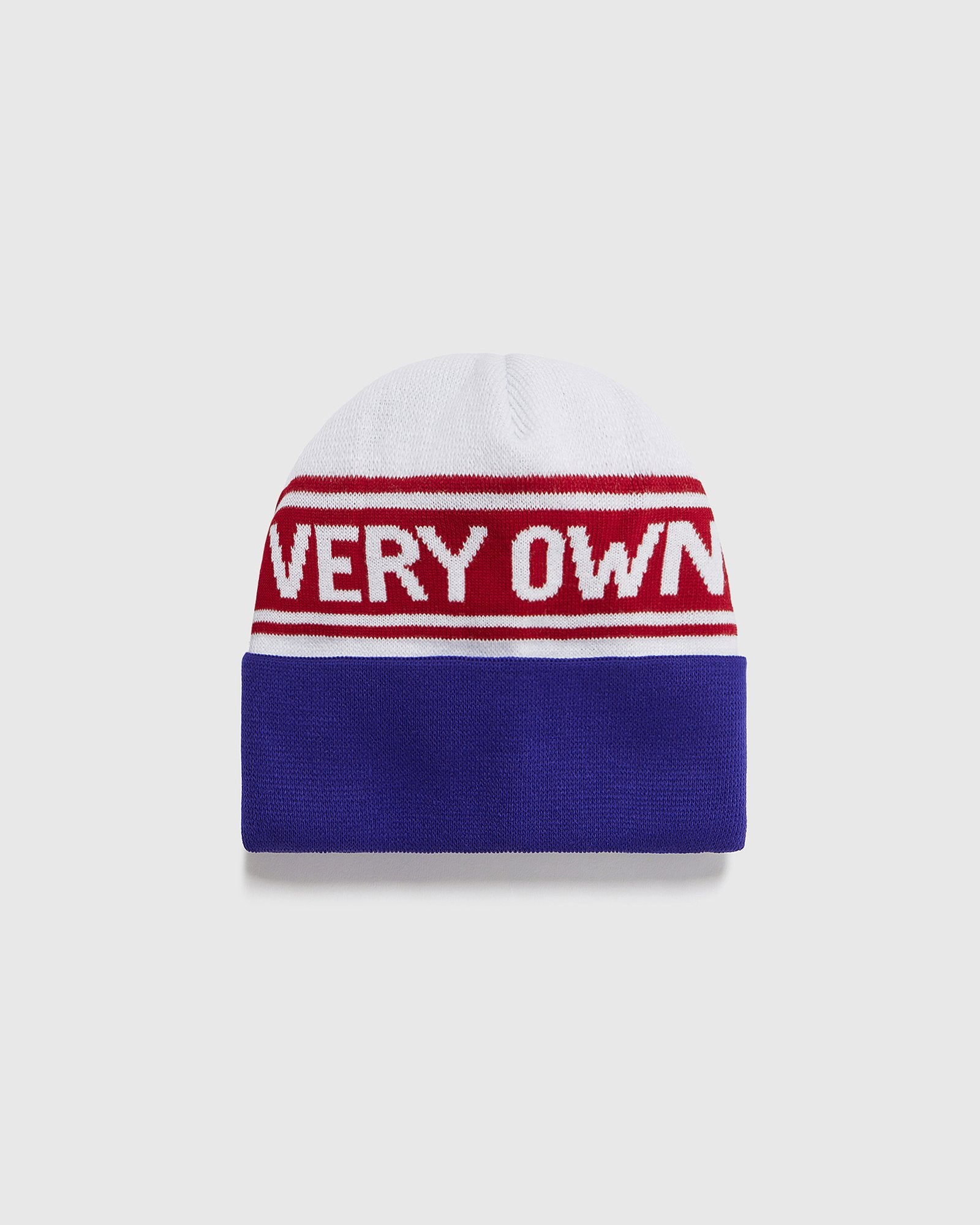 WORDMARK BEANIE - WHITE IMAGE #2