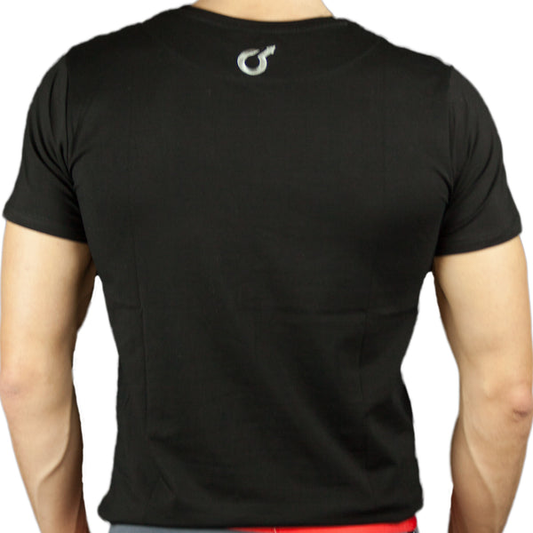 Edge Underwear Back View Logo Vneck Tshirt