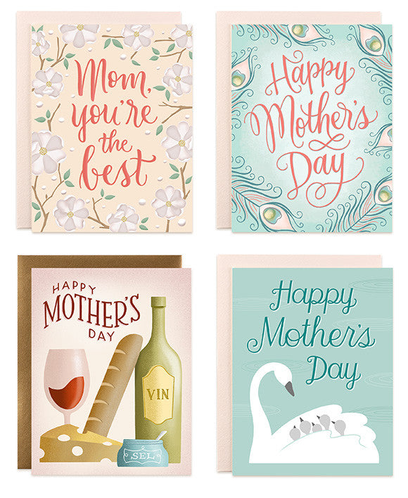 new cards for Mom on Mother's Day
